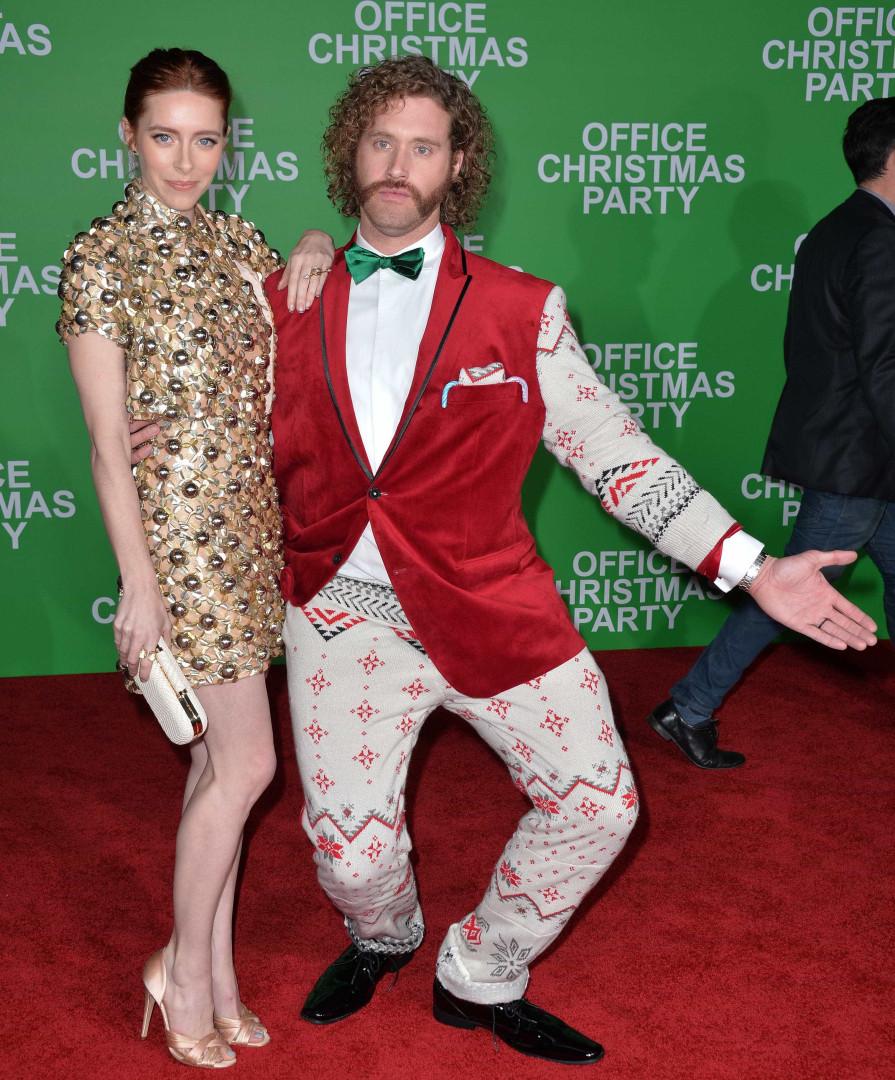 Quando as celebridades se vestem a rigor para o Natal
