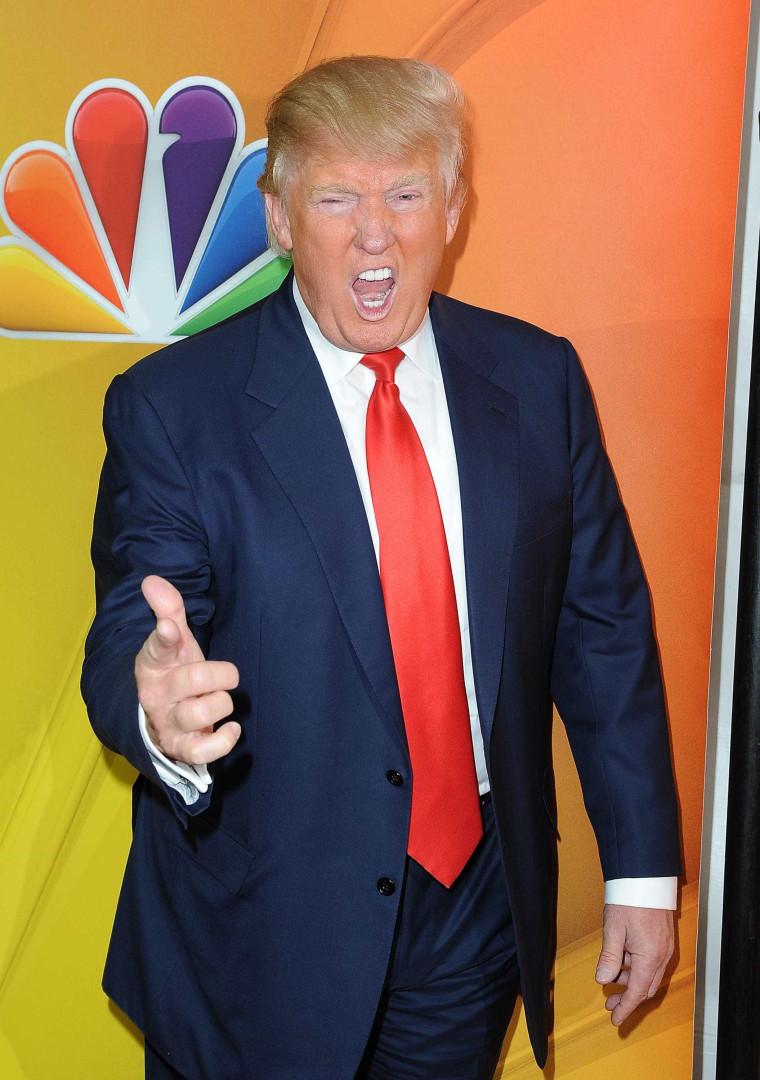 Um dia na vida de Donald Trump