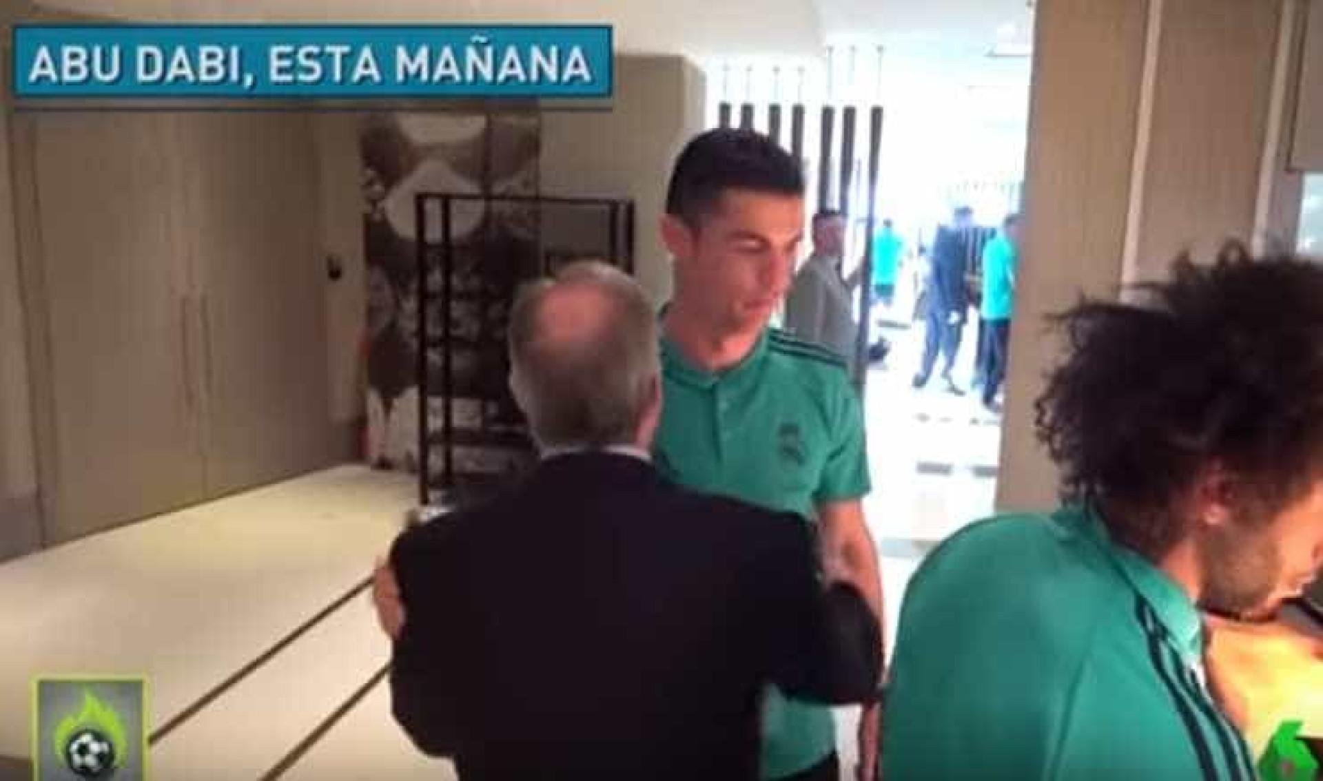 Tensão entre Florentino e Ronaldo? Em Espanha já se especula