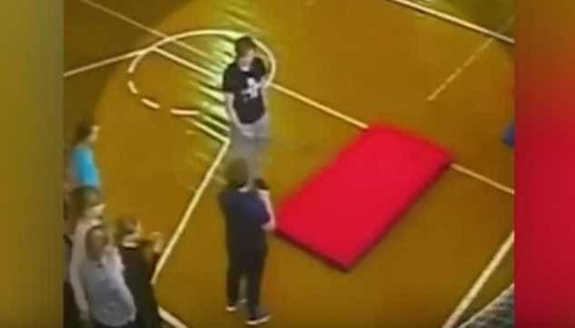 Aluno fratura coluna durante cambalhota em aula de ginástica