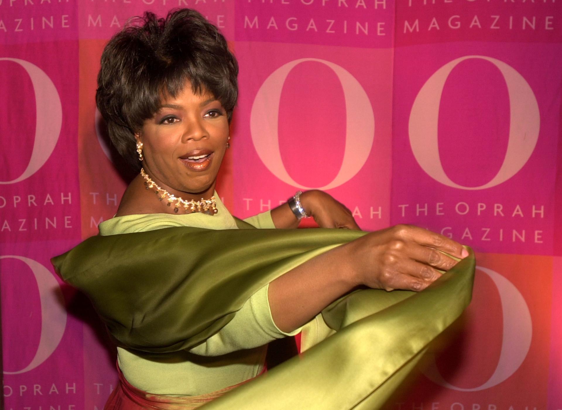 Oprah Winfrey: A estrela que é a referência de todas as mulheres