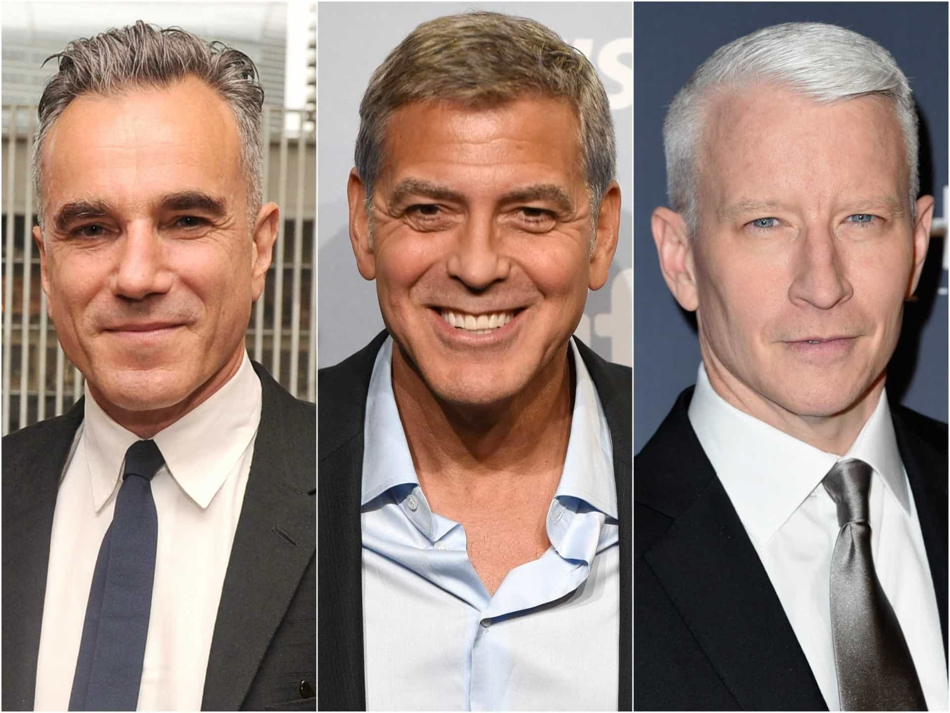 Charme: Conheça os atuais galãs grisalhos de Hollywood