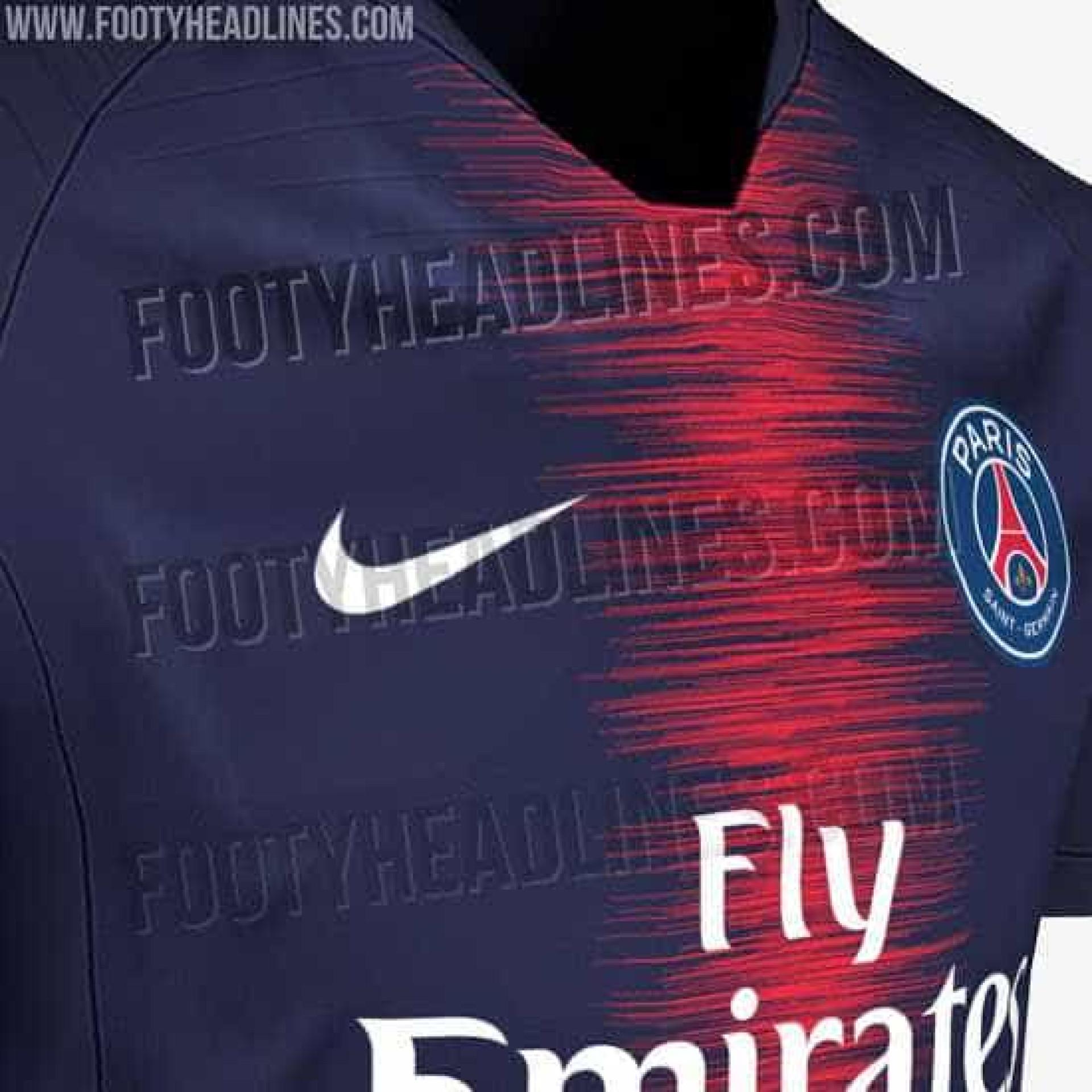 Nova camisola do PSG revelada na internet