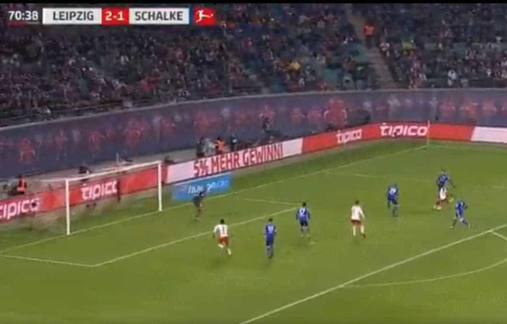 Bruma fechou vitória do RB Leipzig com chave de ouro