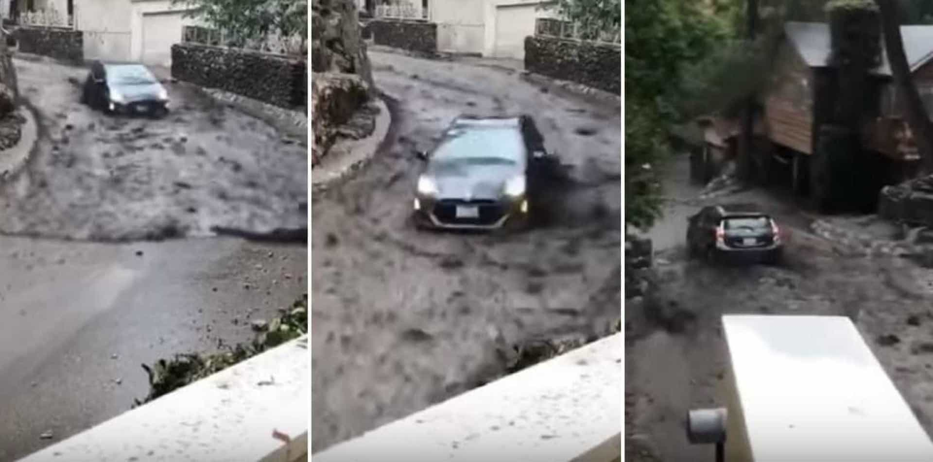 A violência da chuva na Califórnia que já matou 18 pessoas
