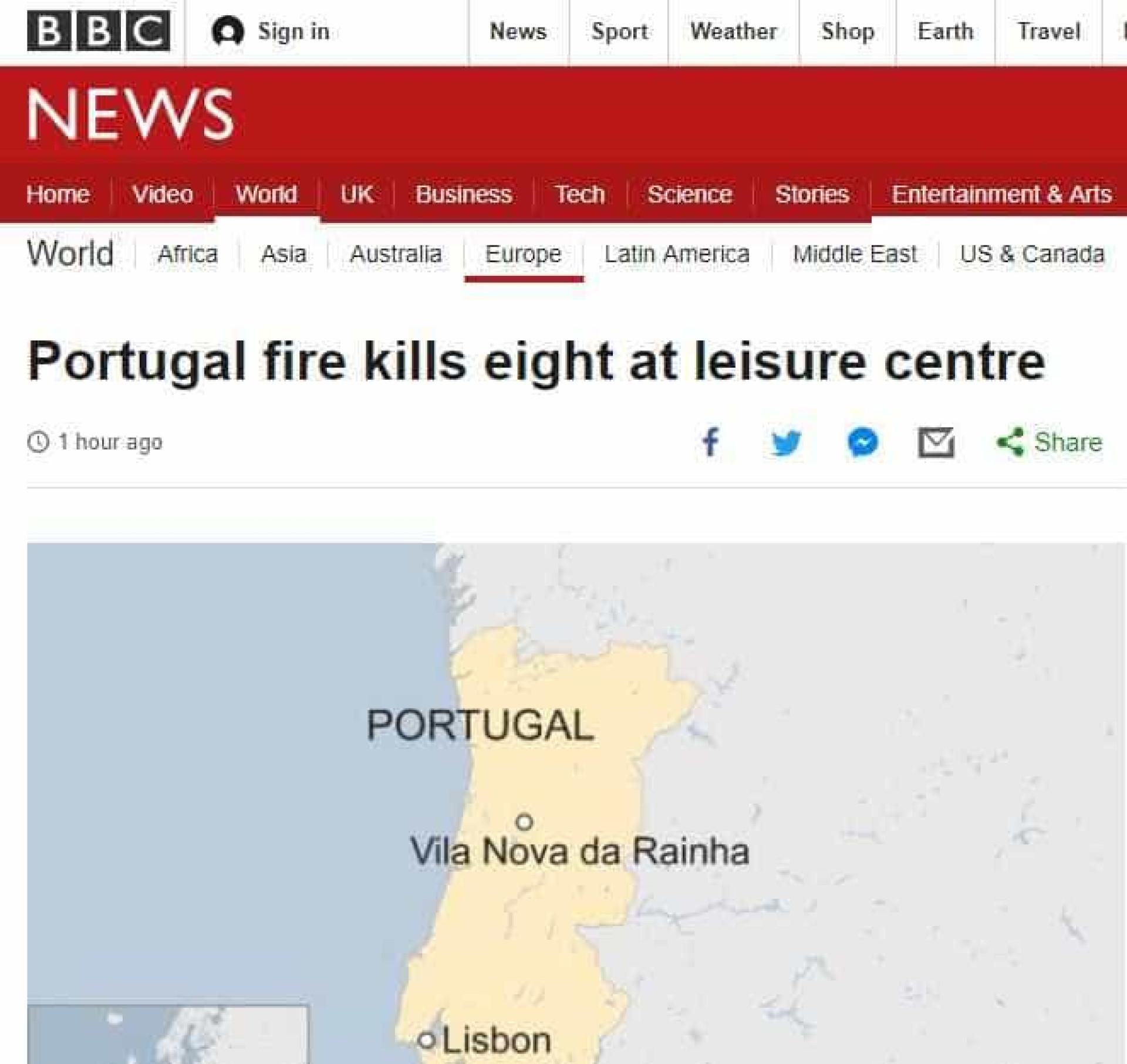 Portugal volta a ser notícia lá fora. Desta vez as razões não são boas