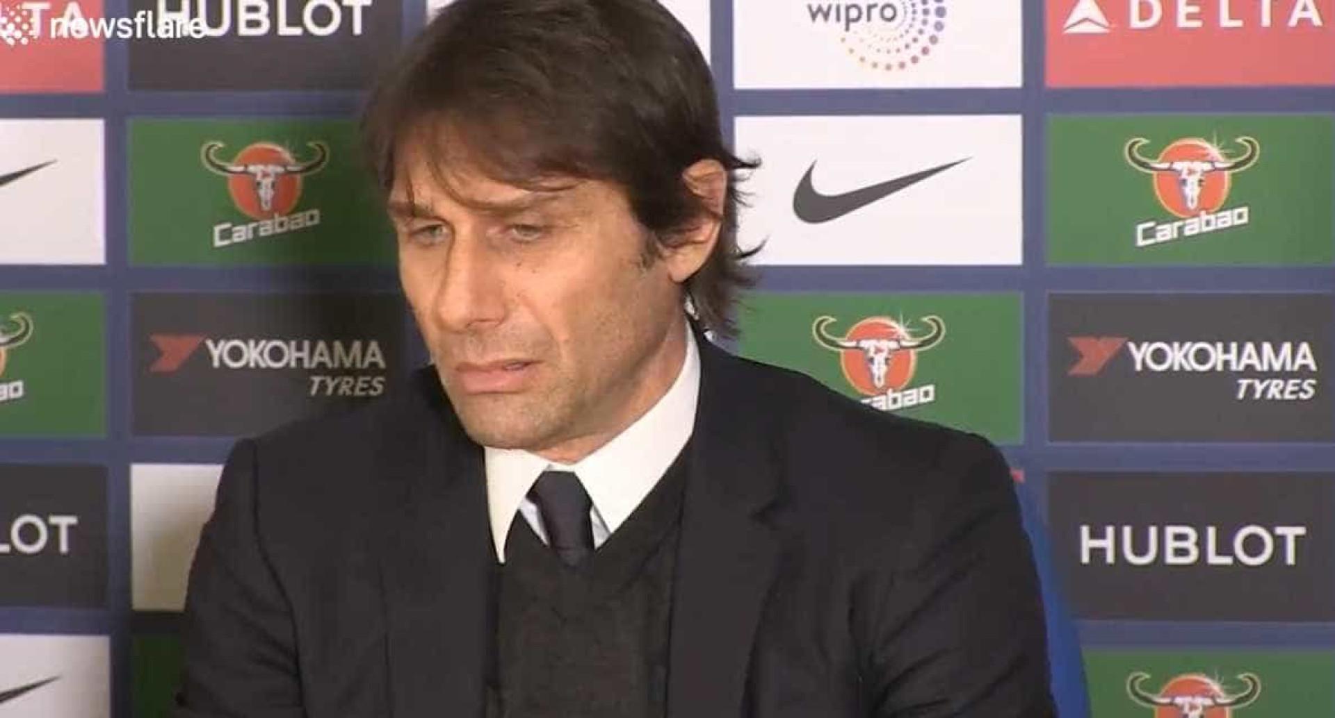 Antonio Conte diz que Mourinho não lhe tira o sono