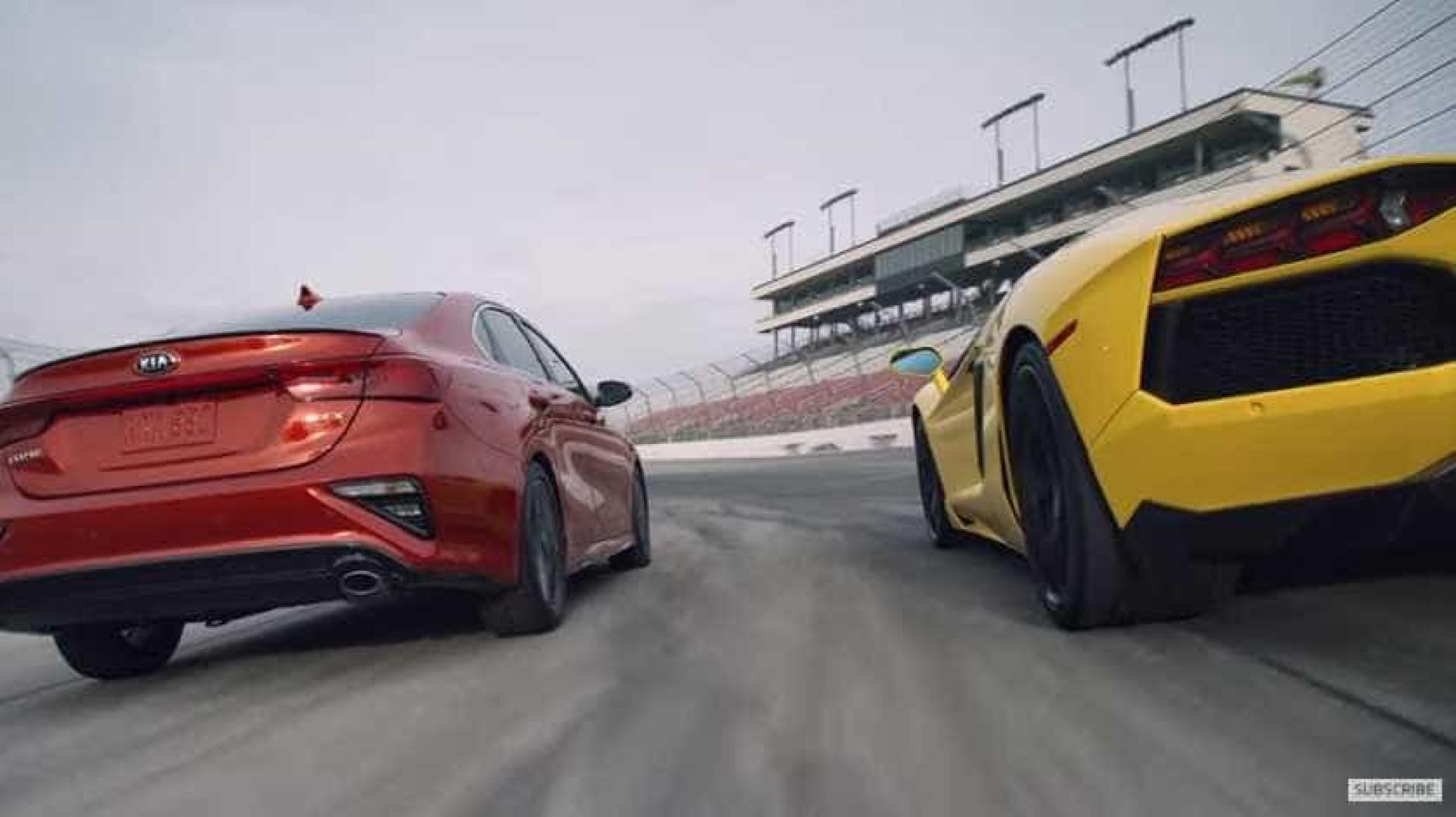 E se um Kia ganhar a um Lamborghini em (quase) tudo?