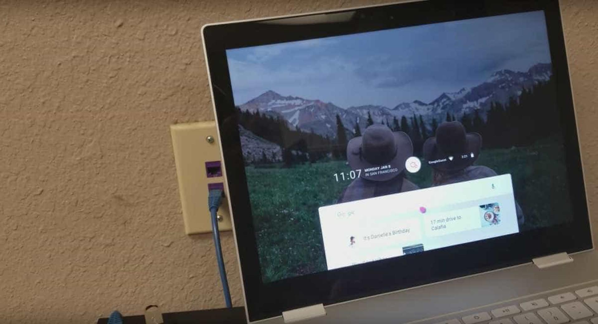 Veja as imagens do Fuchsia, o novo sistema operativo da Google