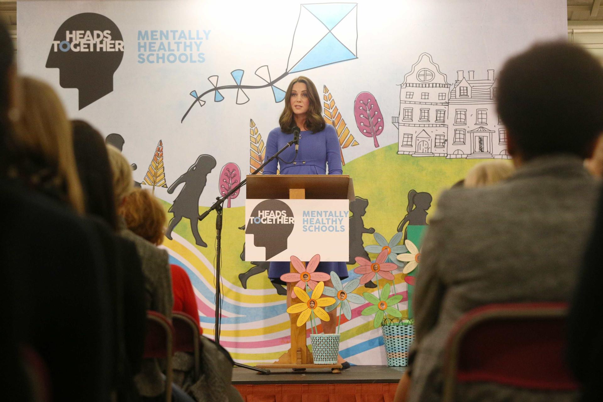 """Kate Middleton fala sobre a saúde mental: """"É um problema para todos"""""""