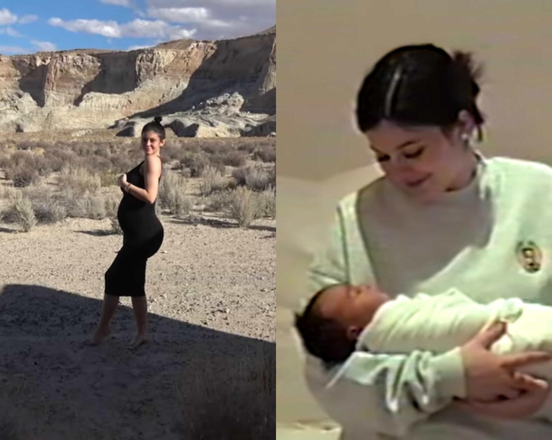 Kylie Jenner resume gravidez num vídeo e mostra imagens de Chicago West