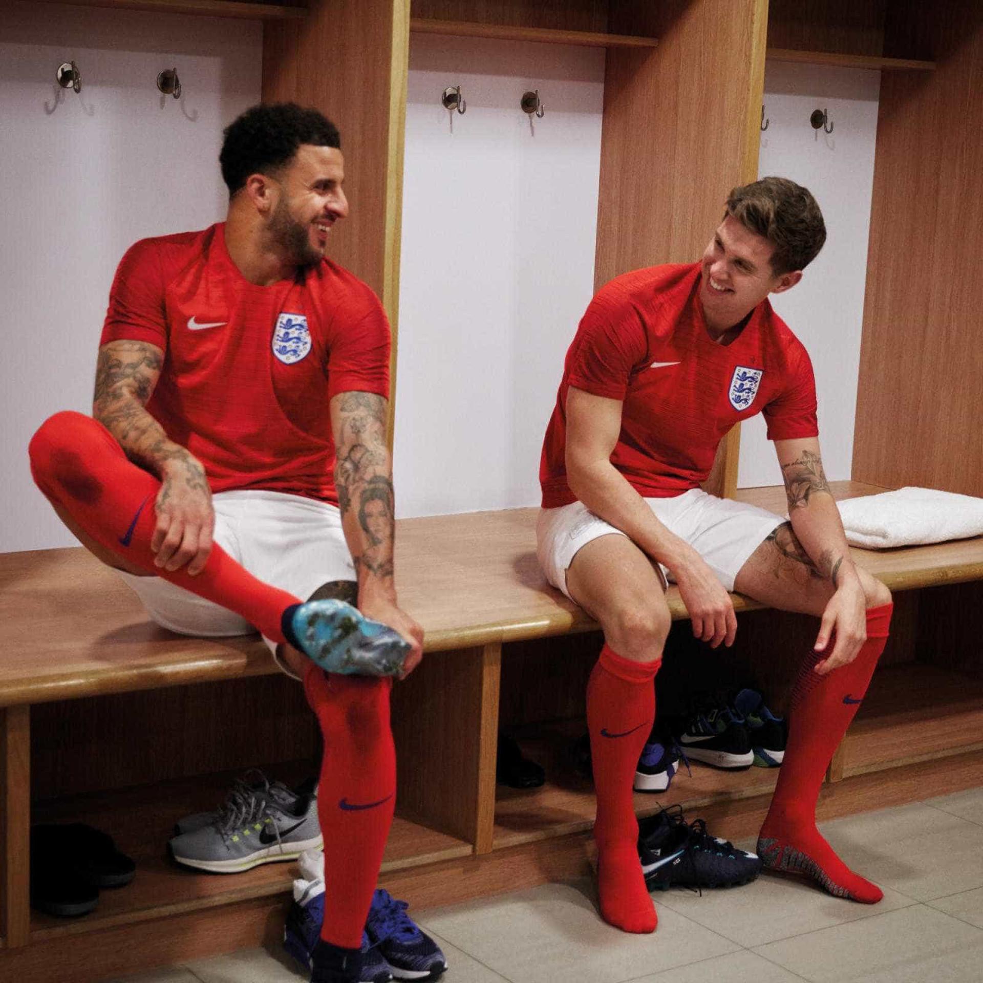 Nike desvenda os novo equipamentos da seleção inglesa b445ce749a5b9