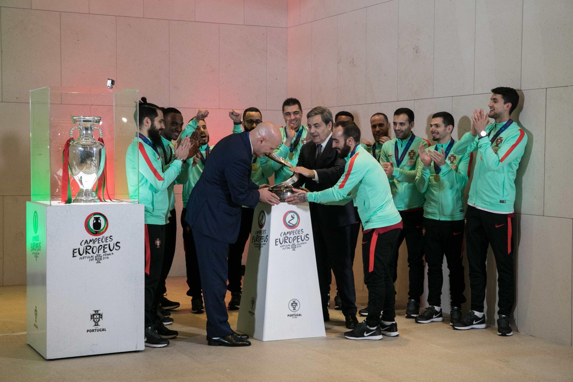 As melhores imagens da festa memorável dos campeões europeus