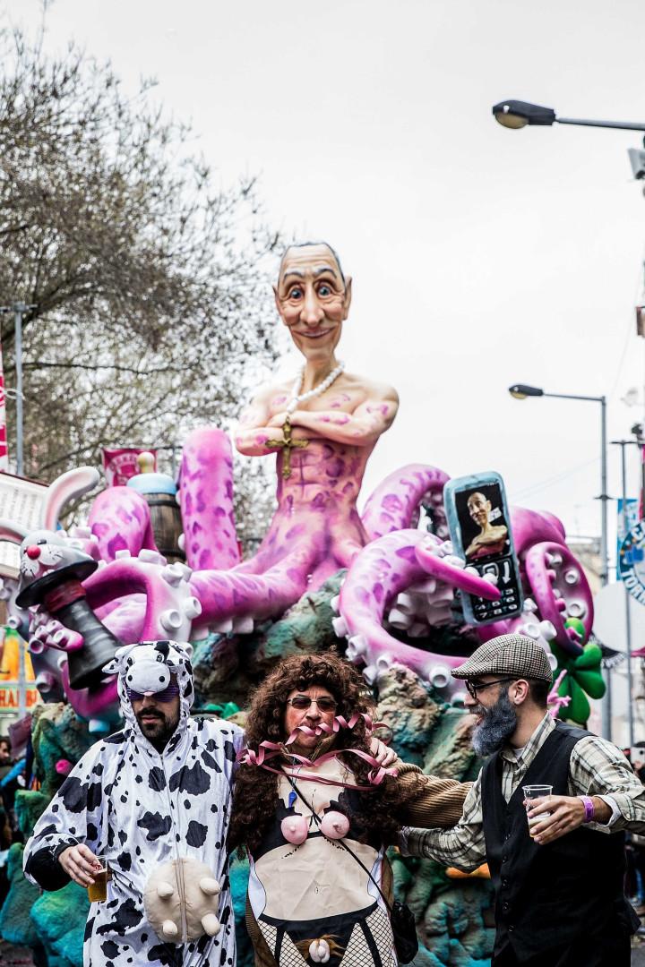 Carnaval português: Nem o frio, nem a chuva conseguiram travar a festa