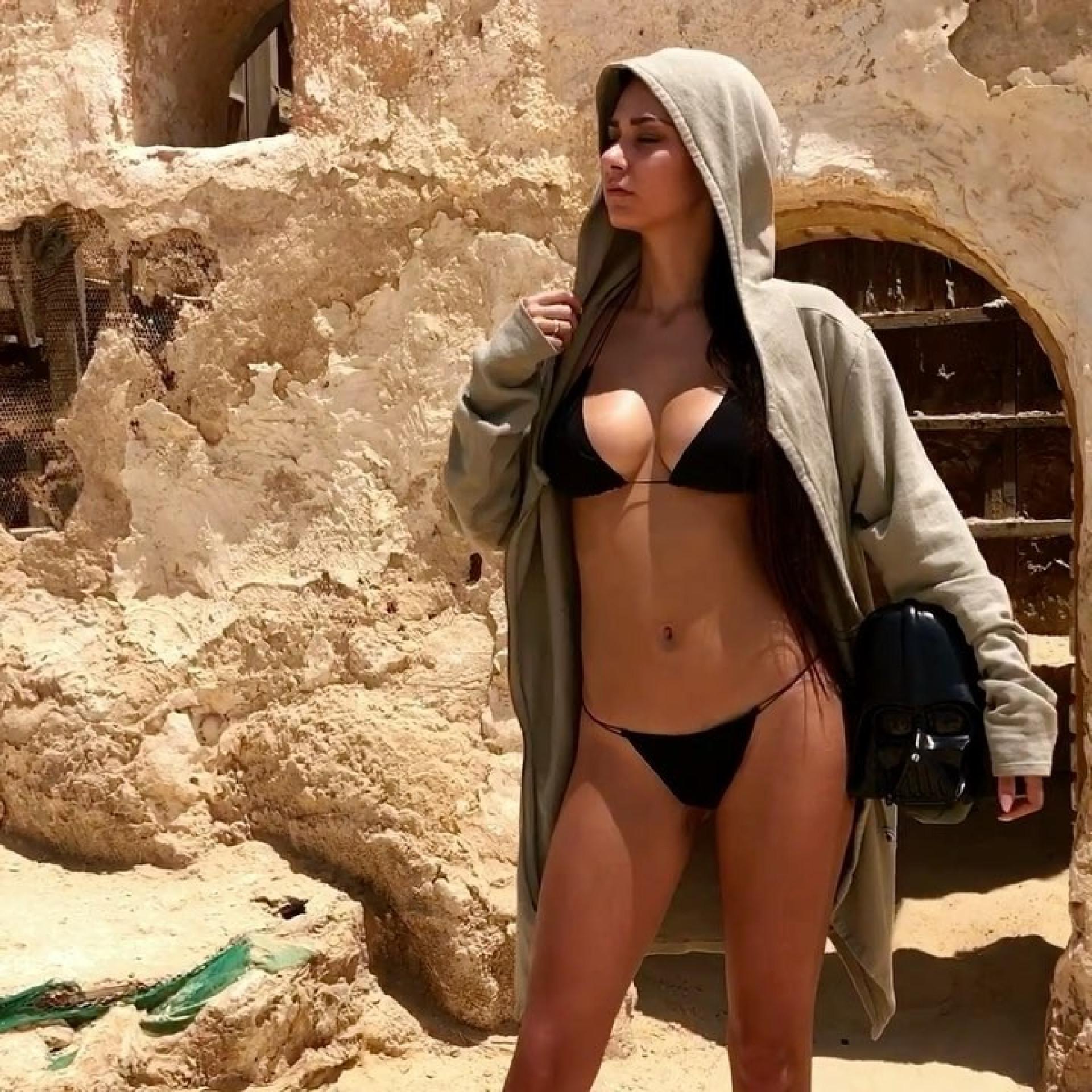 A bela modelo russa que anda à 'caça' de James Rodríguez