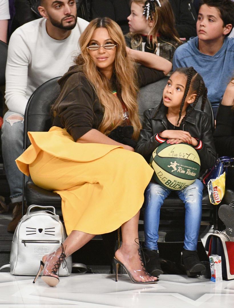 O momento de 'ouro' que mostra a cumplicidade entre Beyoncé e a filha