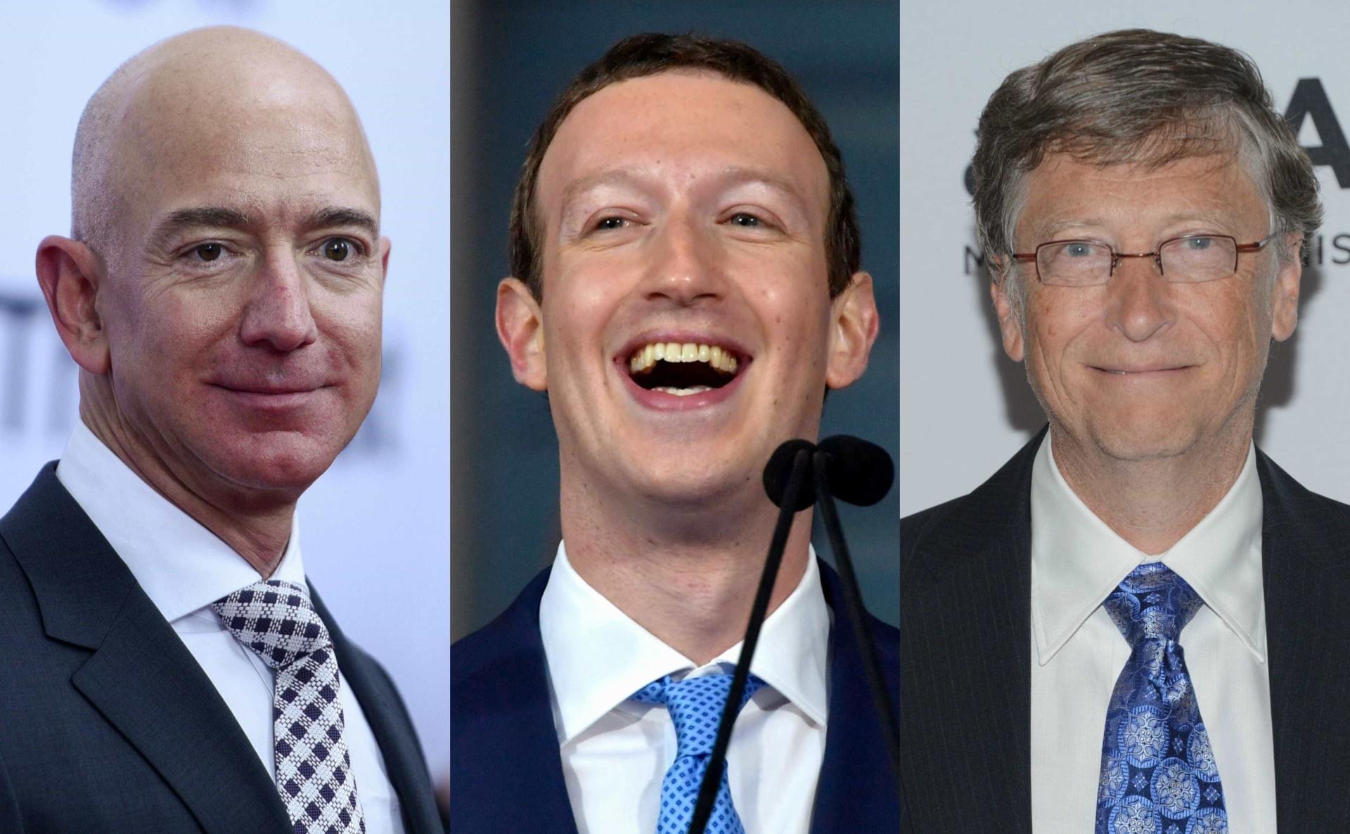 Top 30: São estes os maiores bilionários do planeta