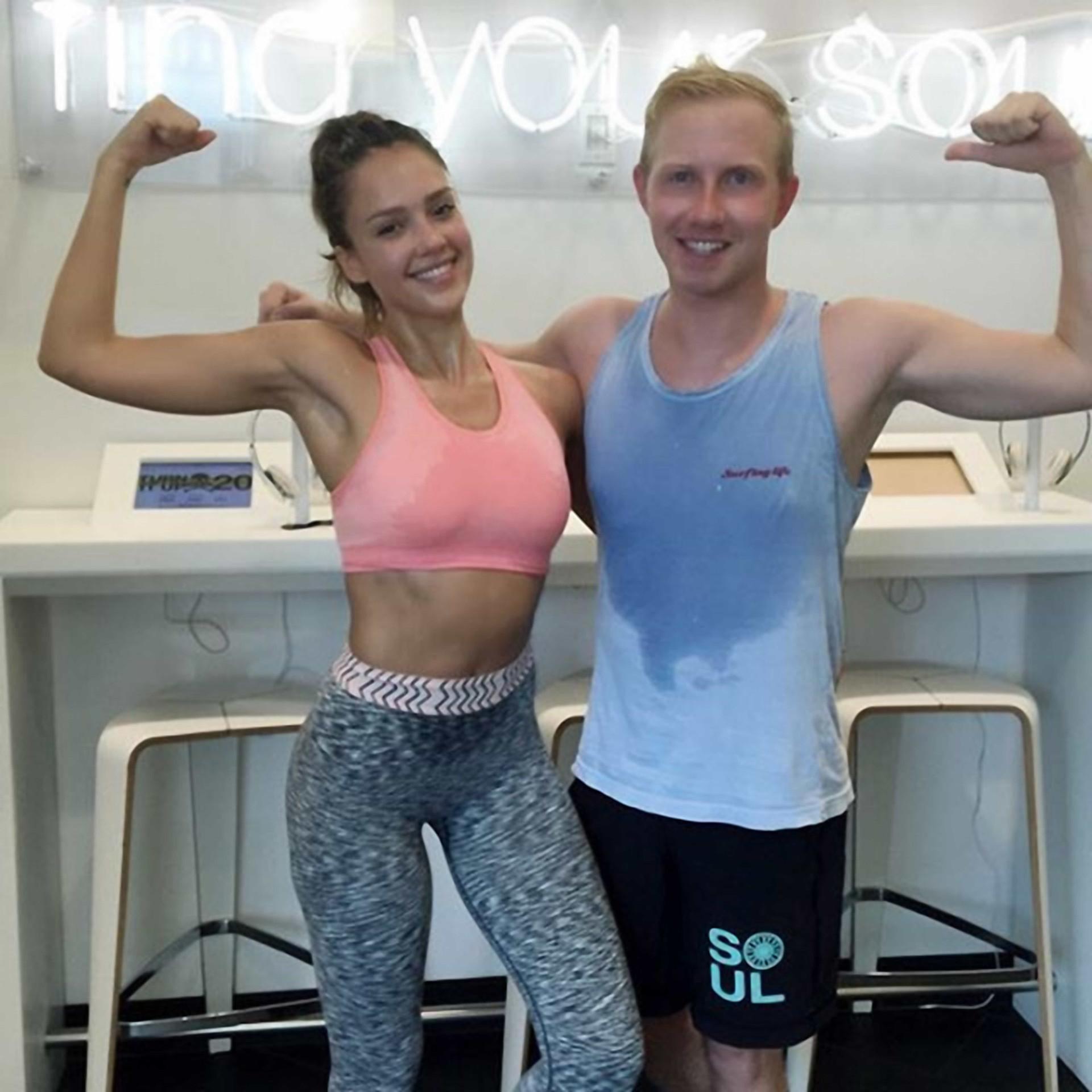 Os famosos e os seus momentos 'fitness'