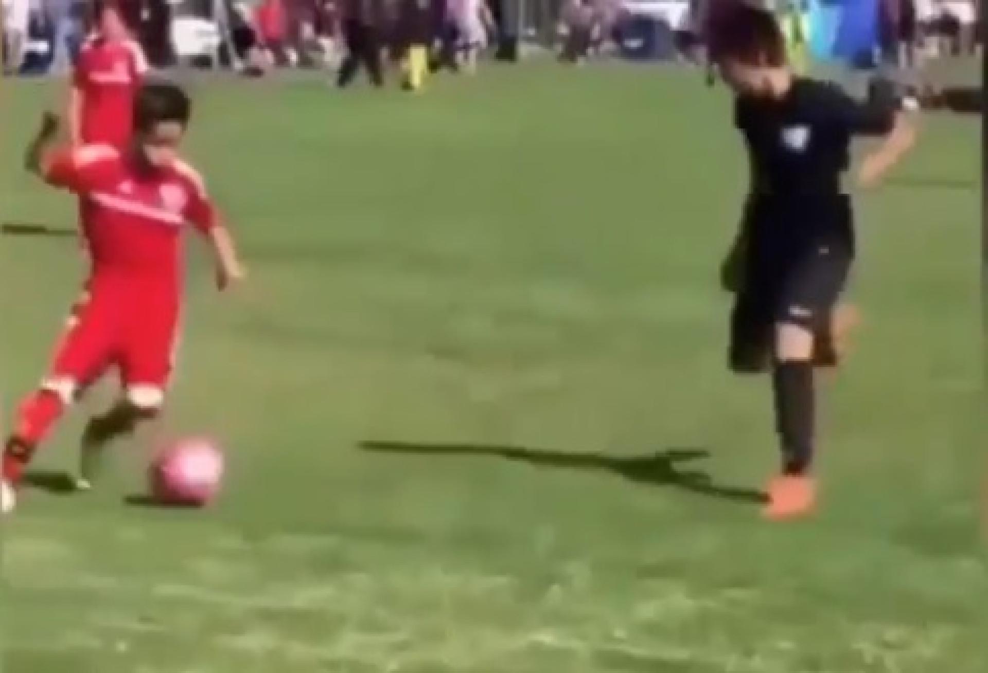 Barça e City 'lutam' por menino de 13 anos que já tem alcunha de Messi