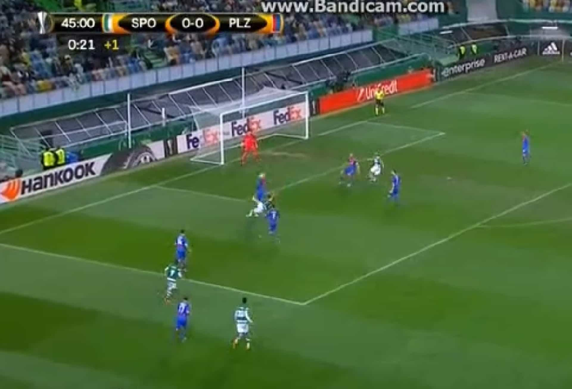 Incrível: Jogada fantástica de Coentrão no golo de Montero ao Plzen