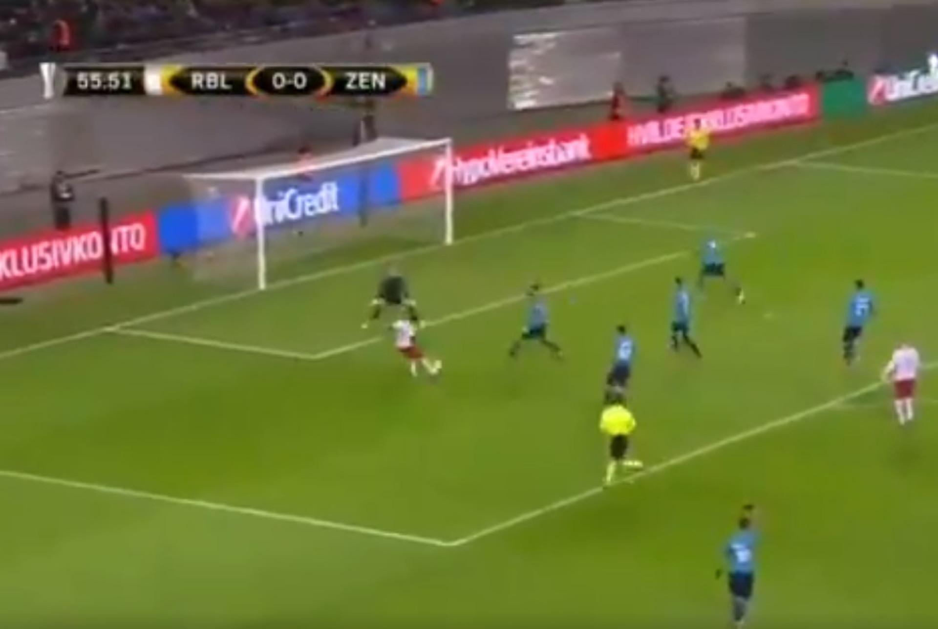 Após assistência magistral, eis o golo de Bruma ao Zenit