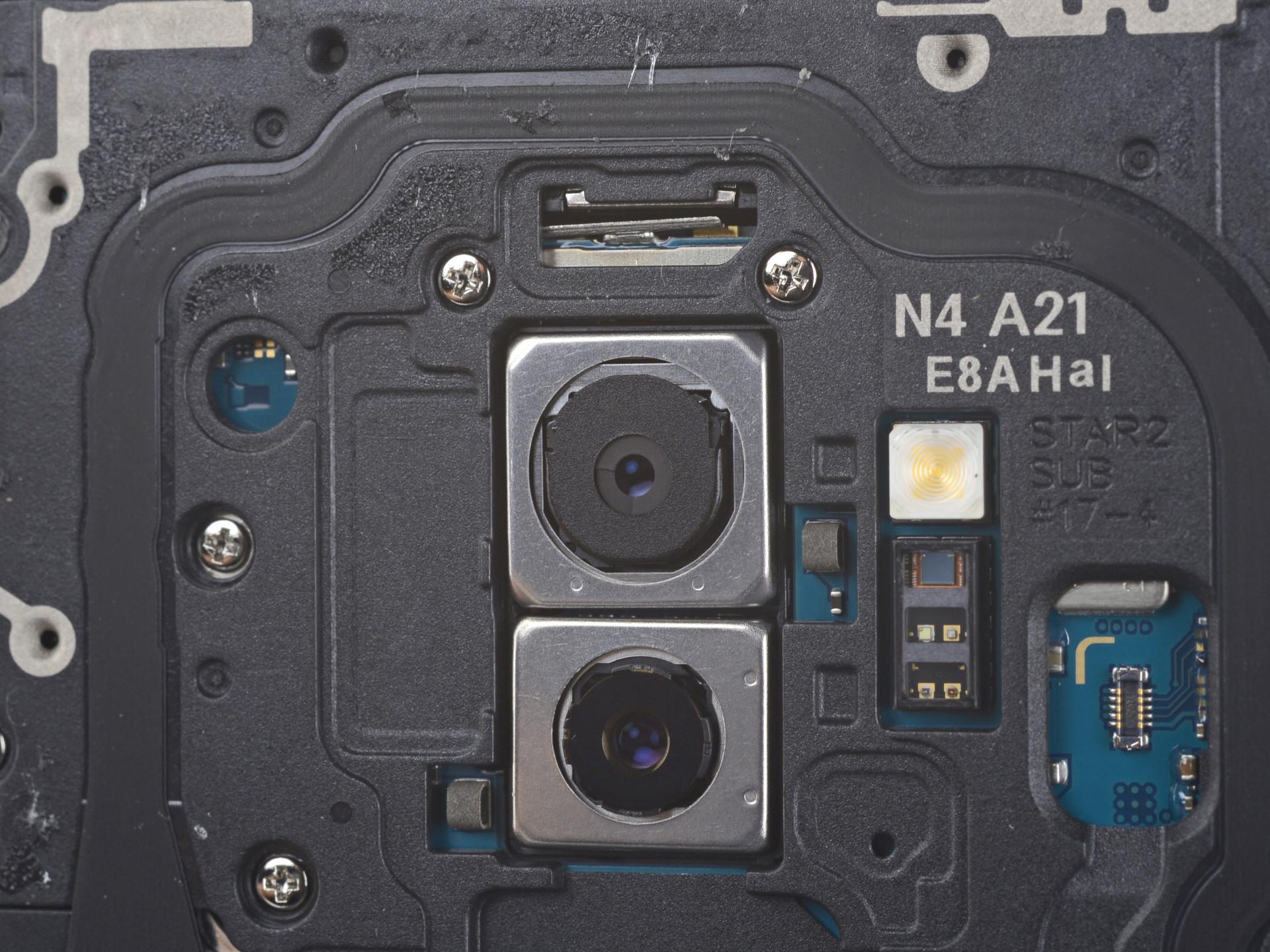 O Galaxy S9 já foi desmontado e pode ver o interior
