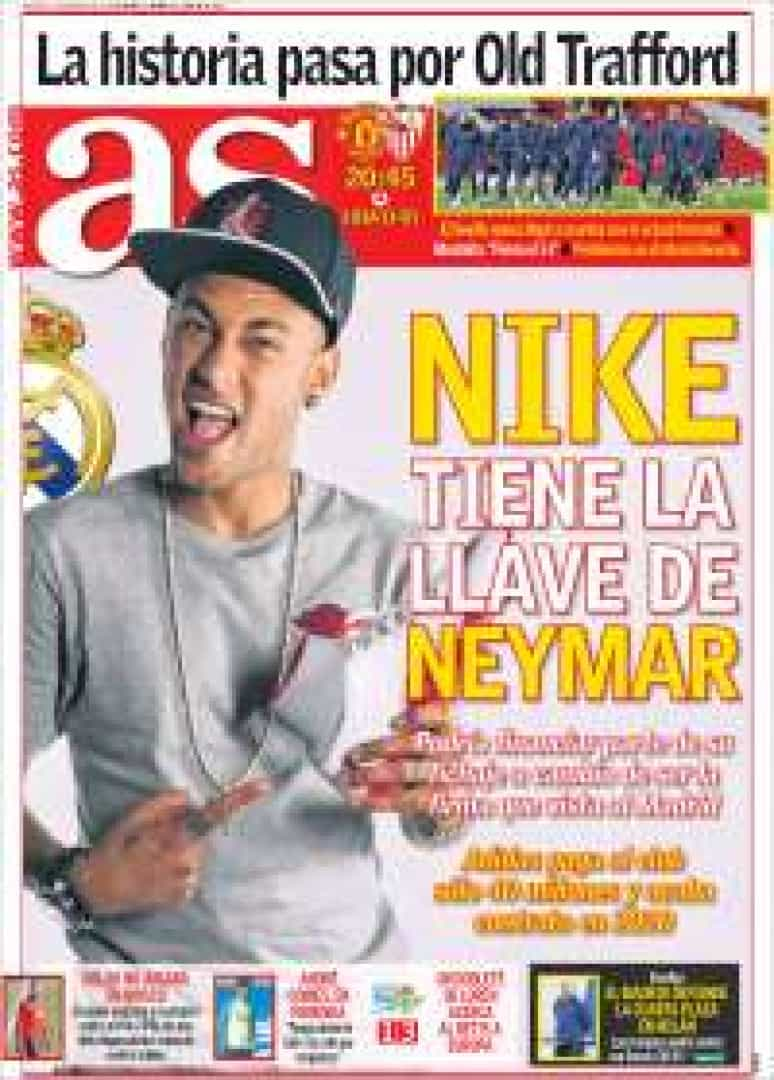 Imprensa internacional: Neymar e os duelos milionários de Mou e Fonseca