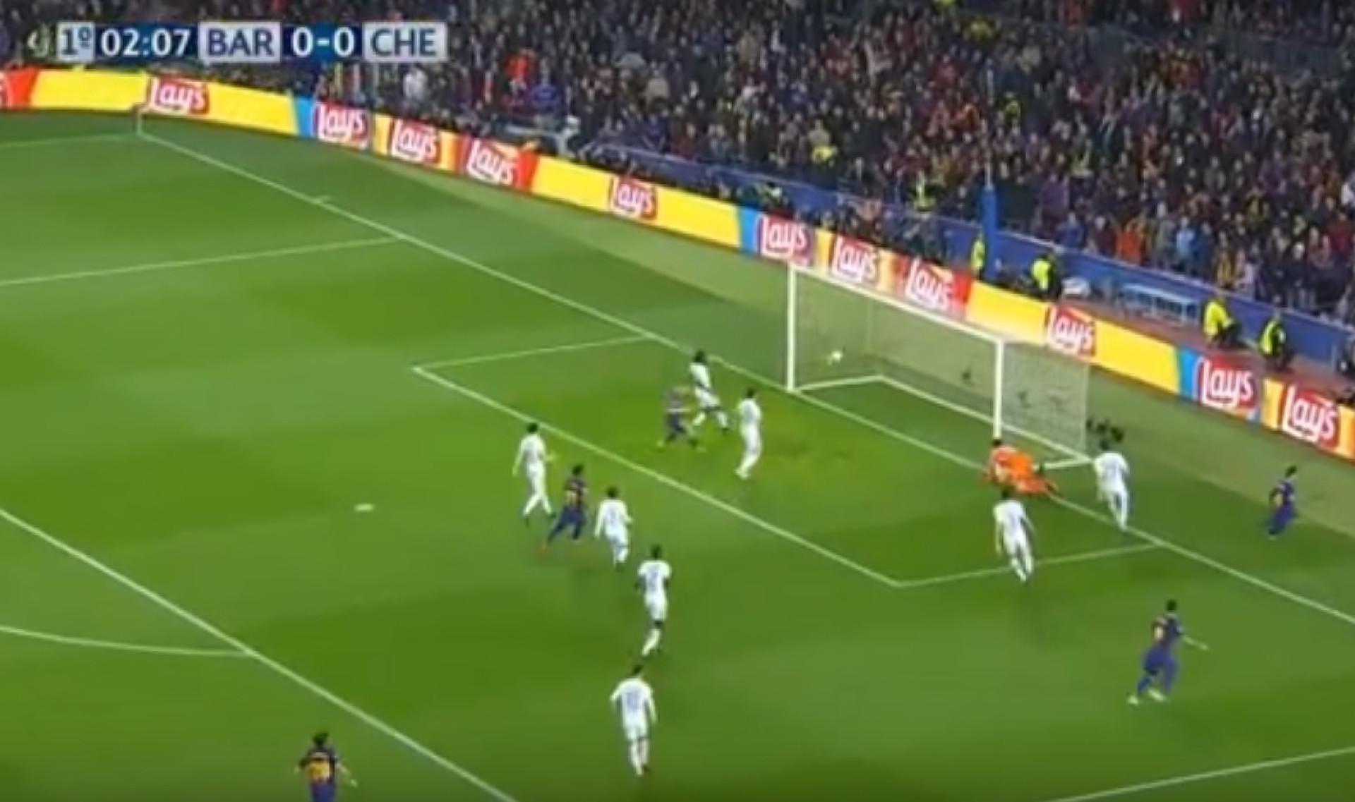 Messi faz uma crueldade a Courtois