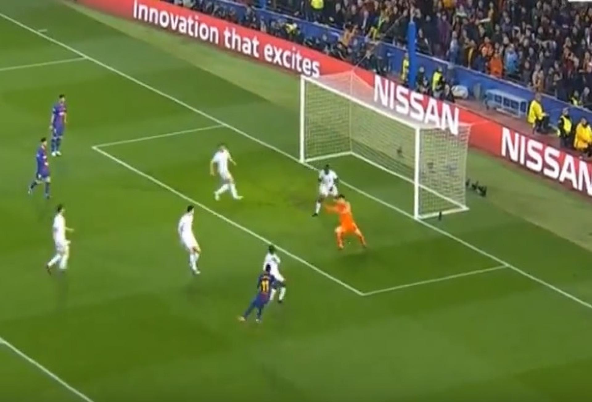 Depois de Messi, foi a vez de Dembélé fazer uma 'maldade'