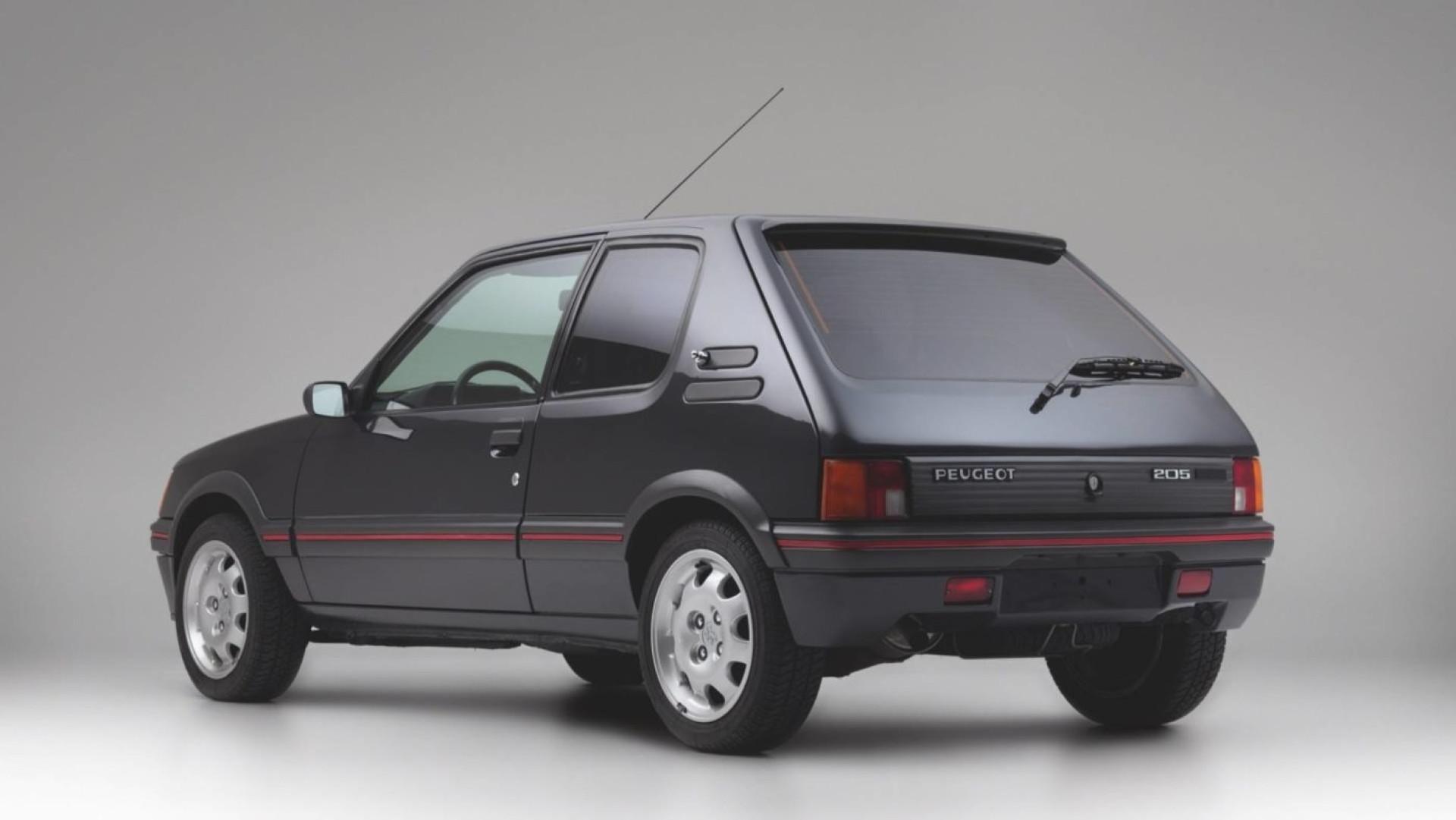 Já viu um Peugeot 205 GTI blindado? Ele existe e está à venda