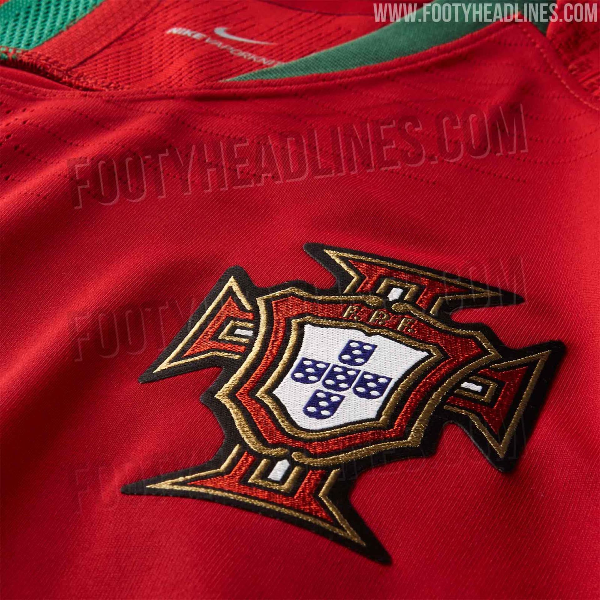 Equipamentos de Portugal para o Mundial 'caem' na Internet