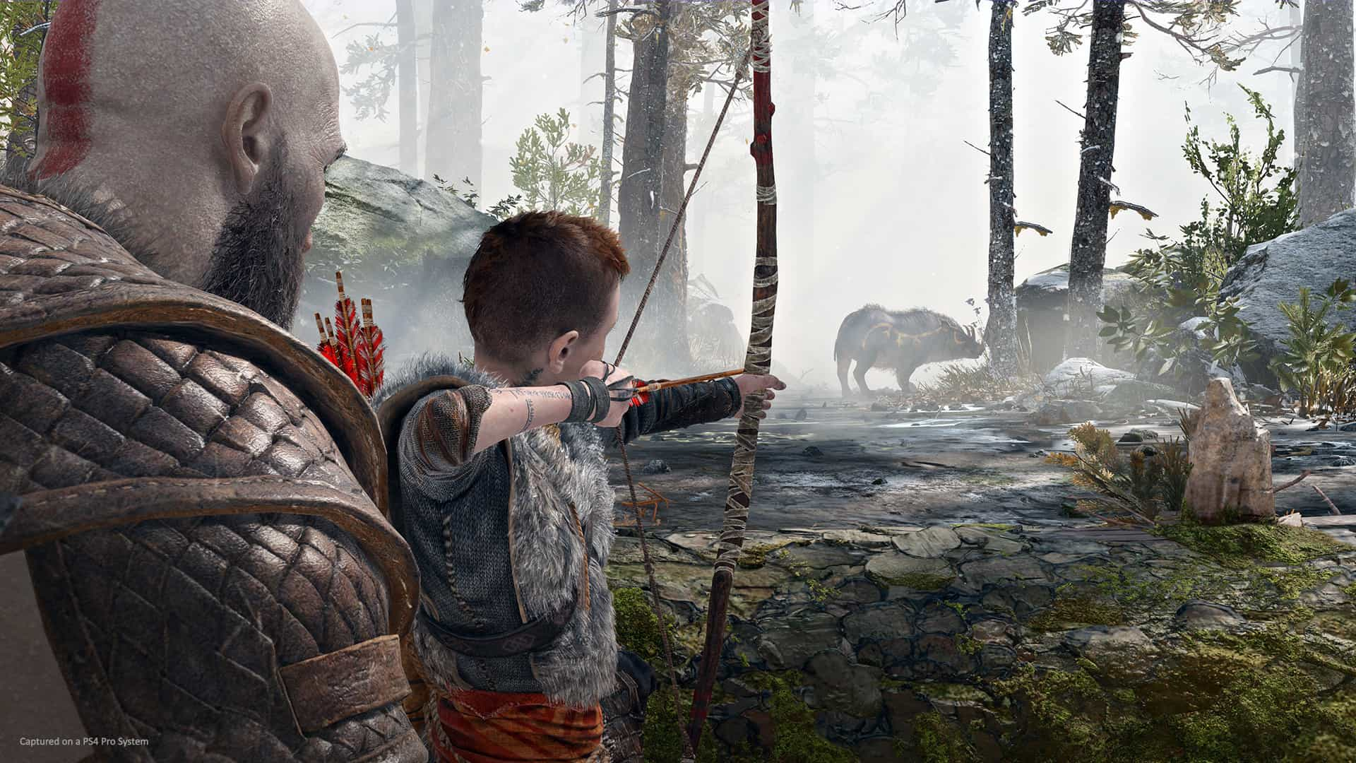 Falta um mês para o novo 'God of War'. Veja as novas imagens