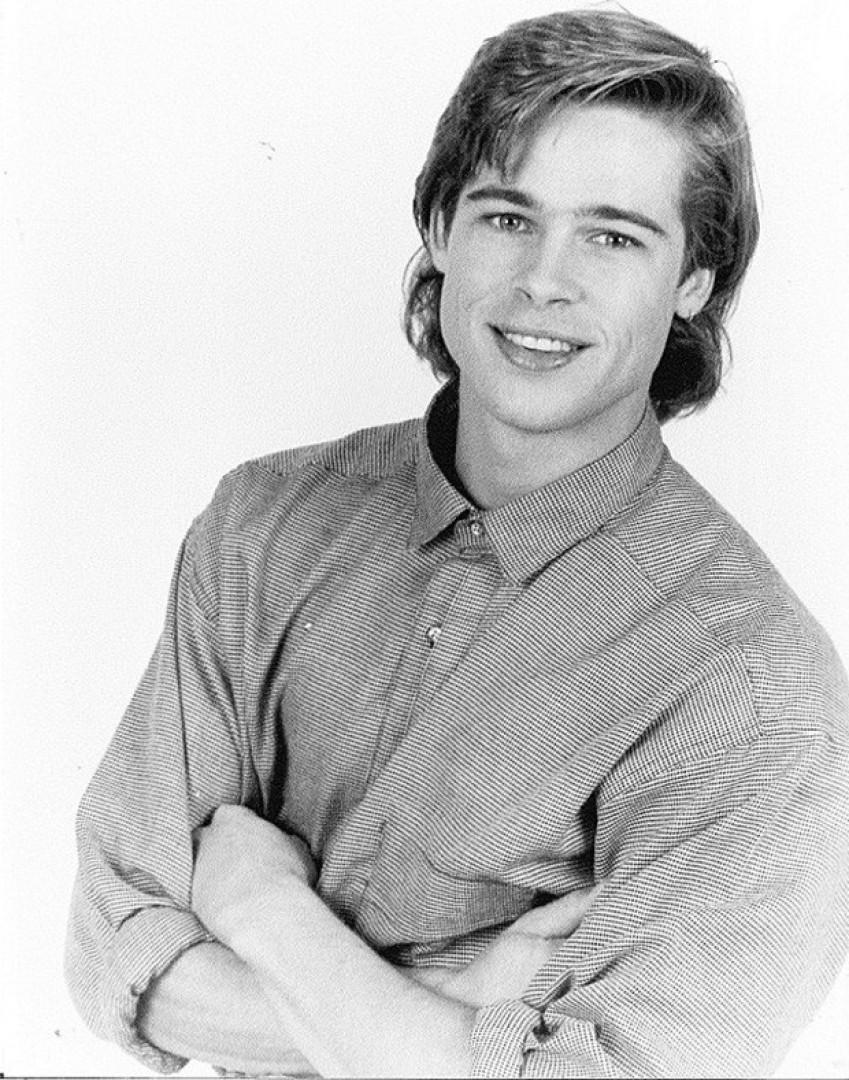 Fotografias inéditas mostram Brad Pitt com apenas 23 anos