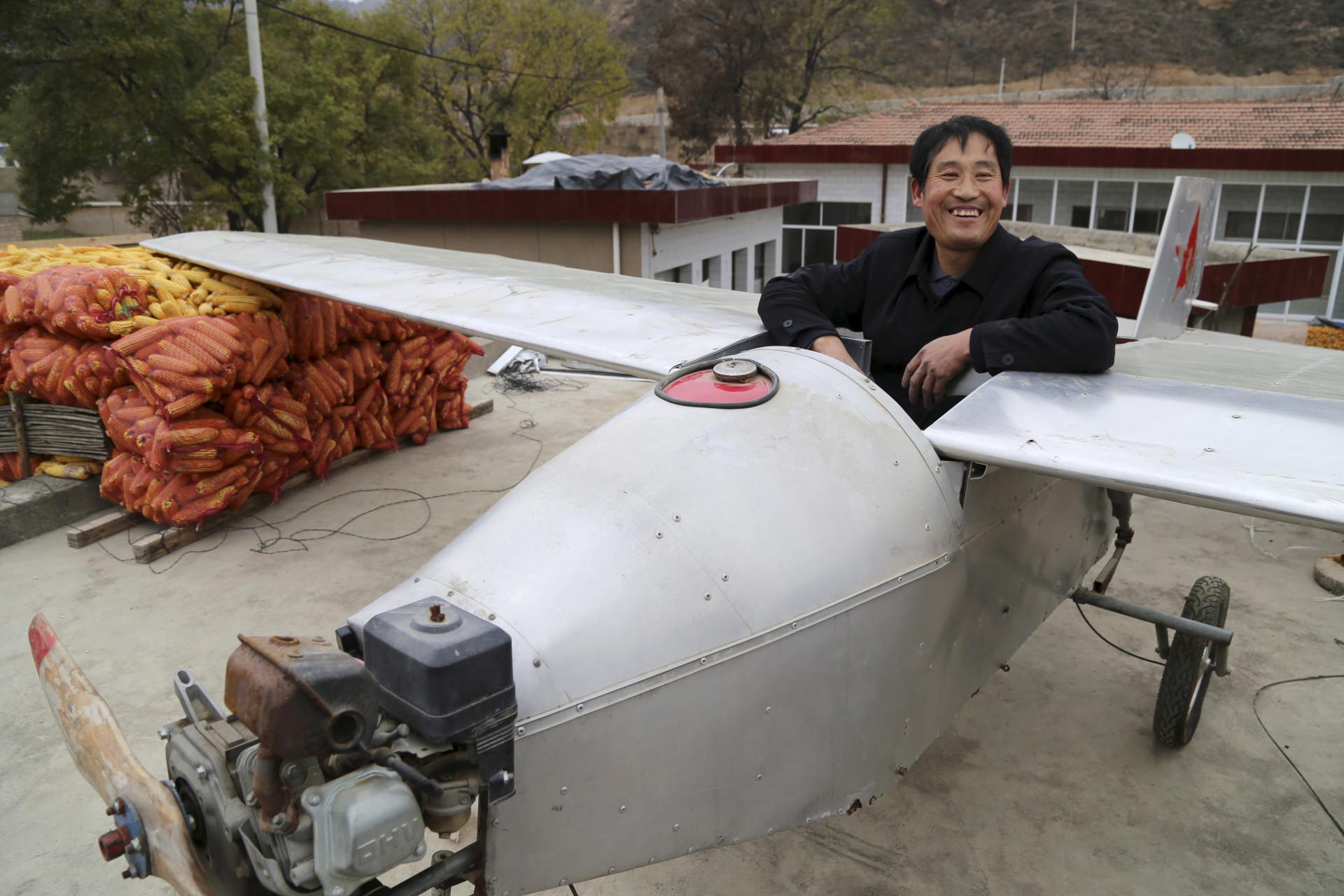As incríveis 'máquinas caseiras' criadas pelos chineses