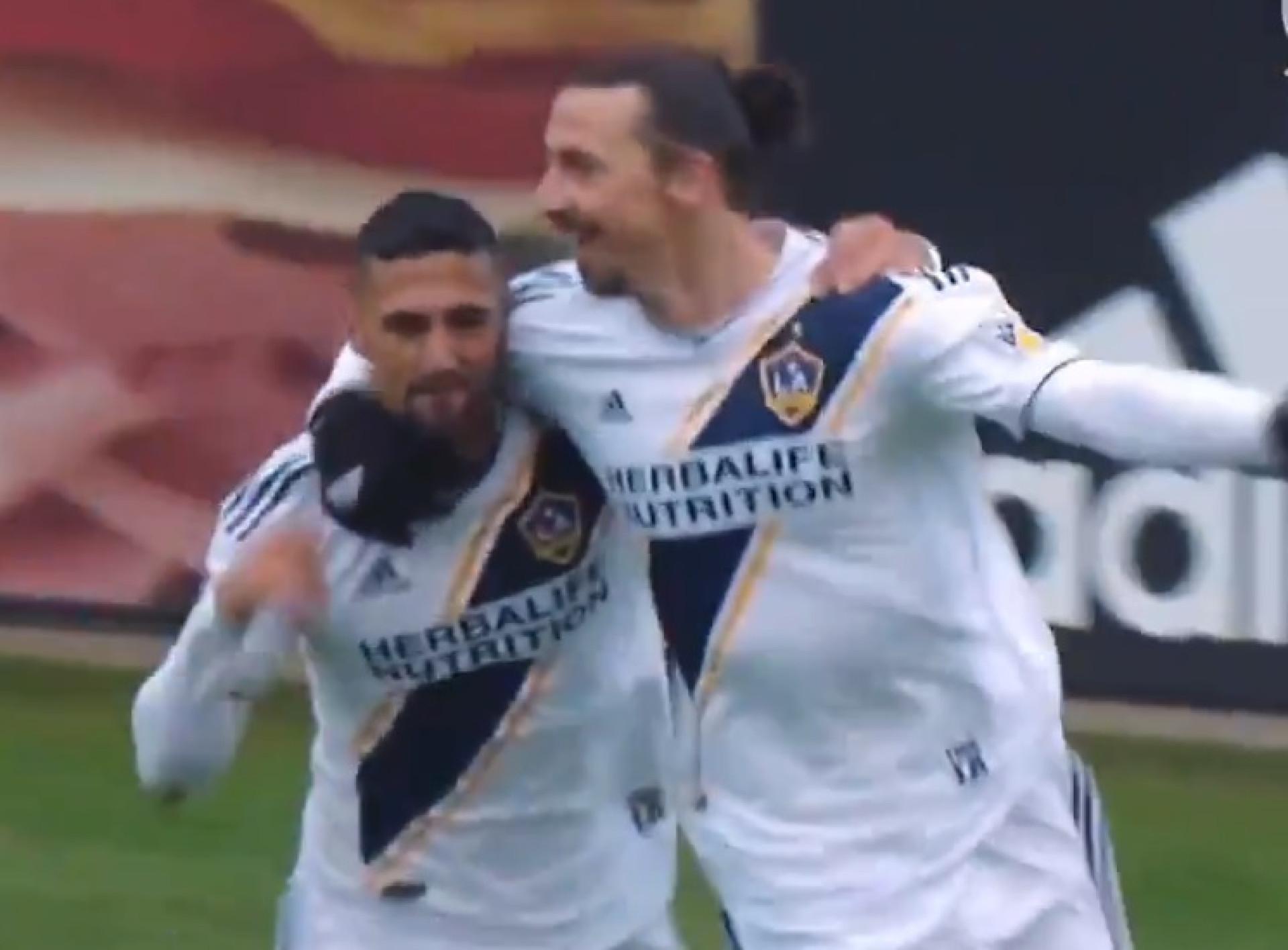 Ibrahimovic volta a marcar e dá (uma vez mais) a vitória aos LA Galaxy