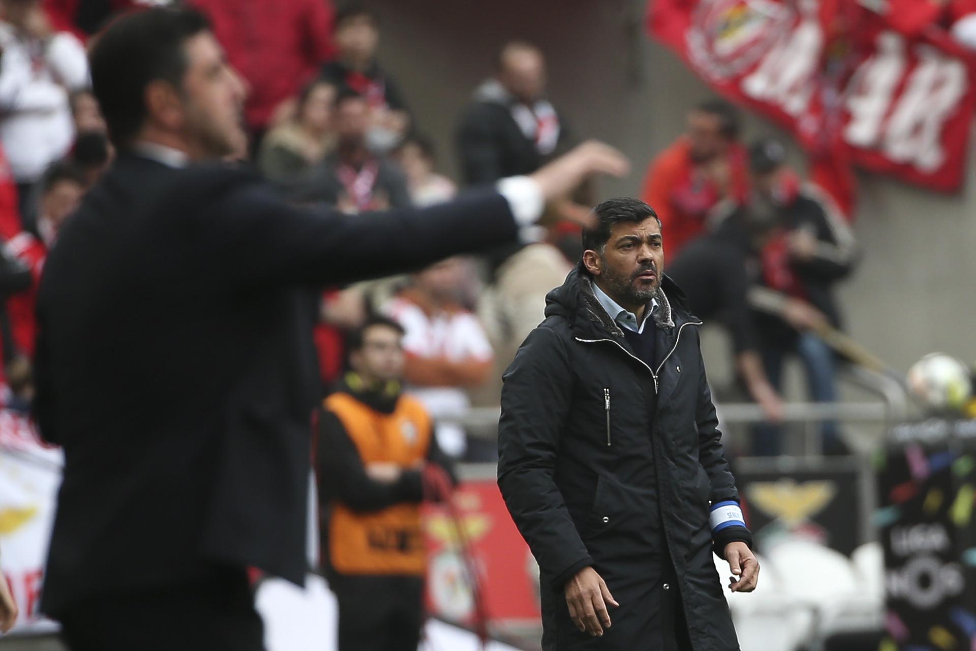 Benfica-FC Porto: O Clássico do ano em imagens