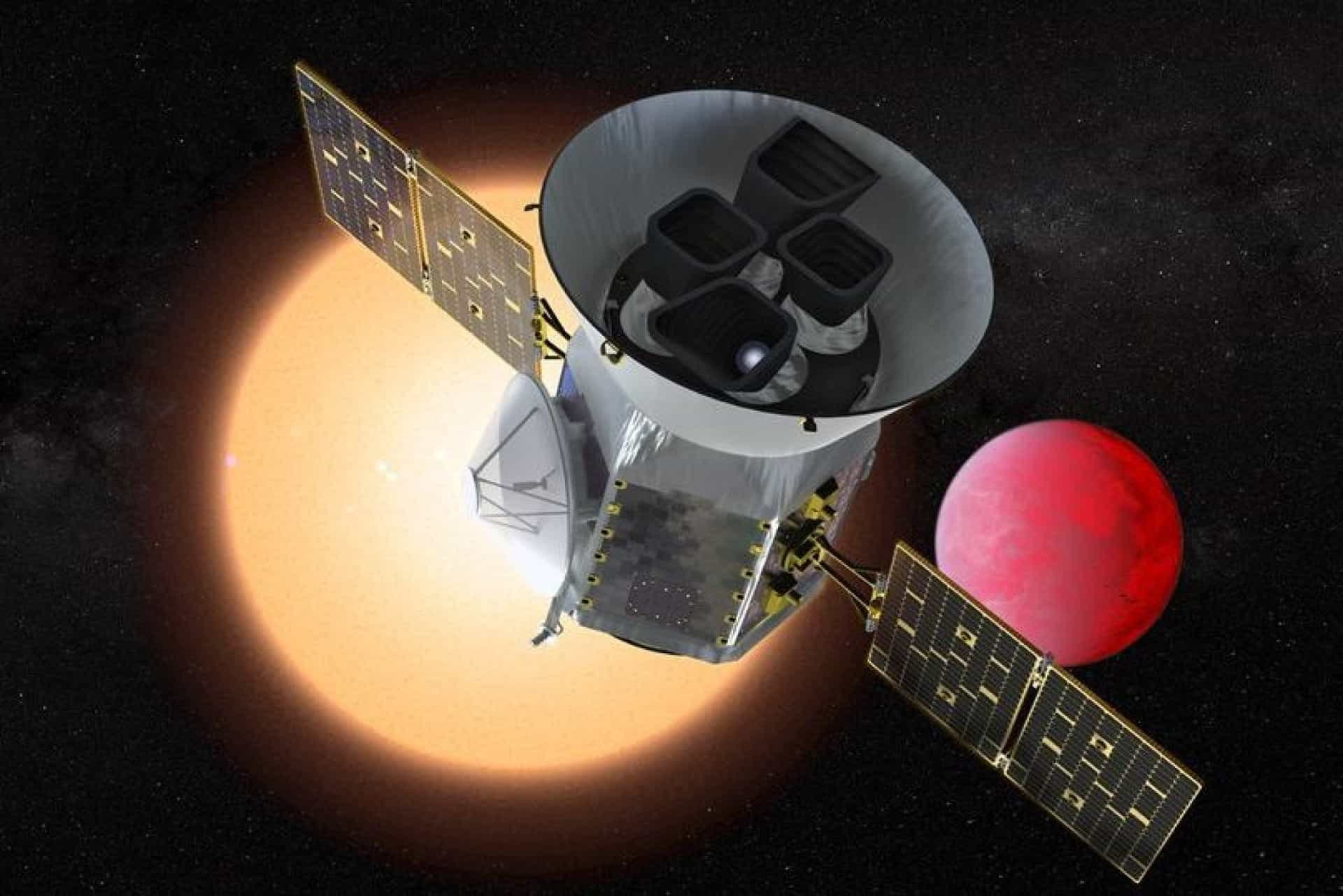 Satélite 'caçador de planetas' revela a (deslumbrante) primeira imagem