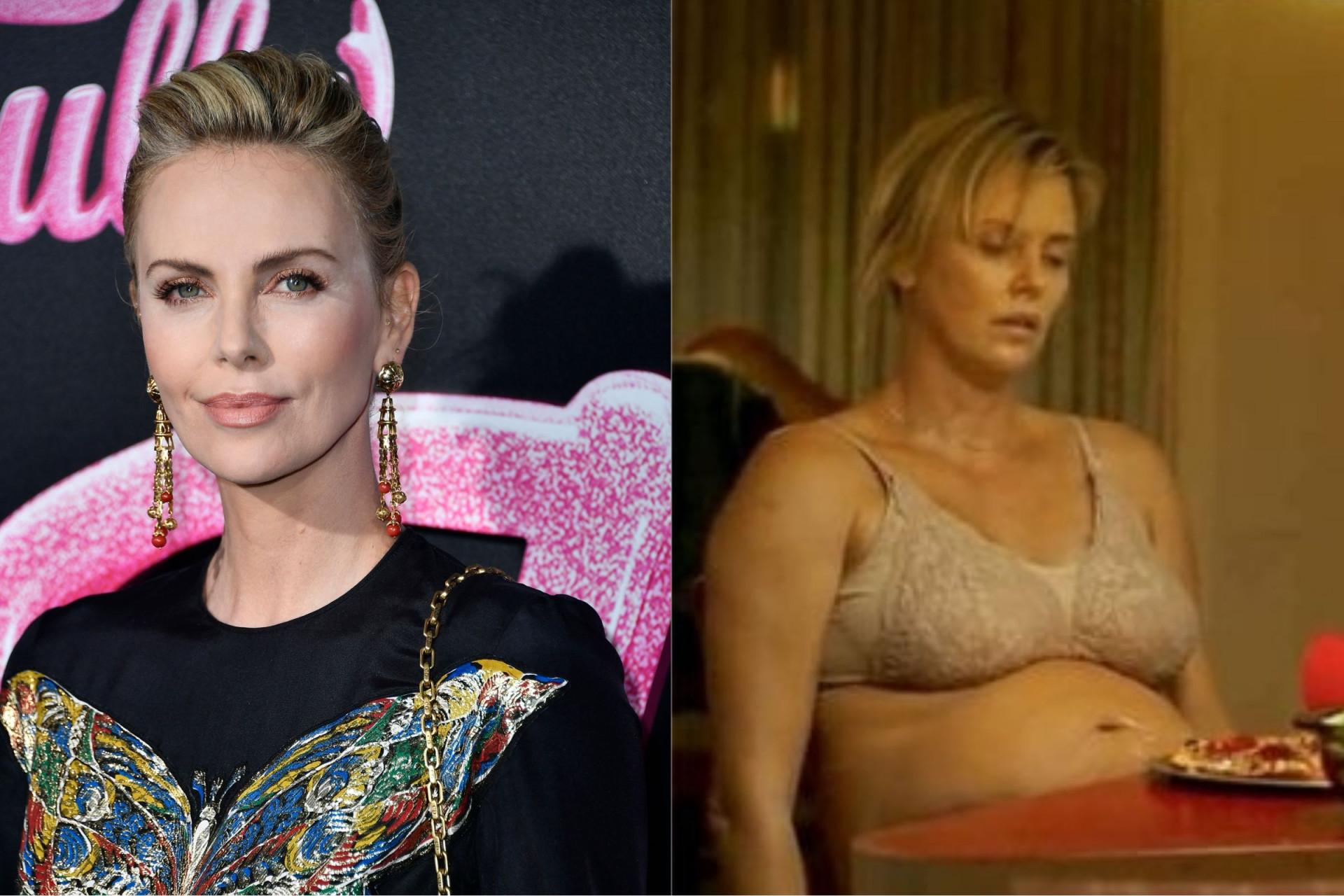 Charlize Theron ficou depressiva após engordar 22 quilos para filme