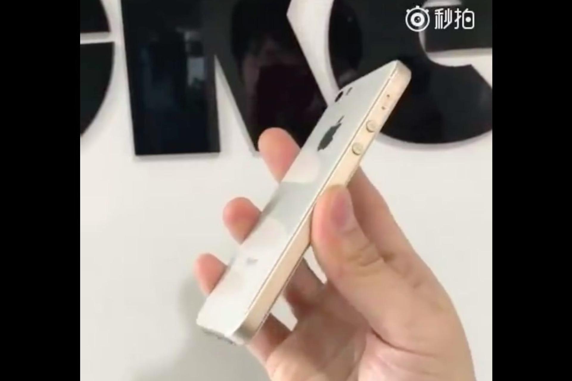 Alegada nova versão do iPhone SE surge em imagens