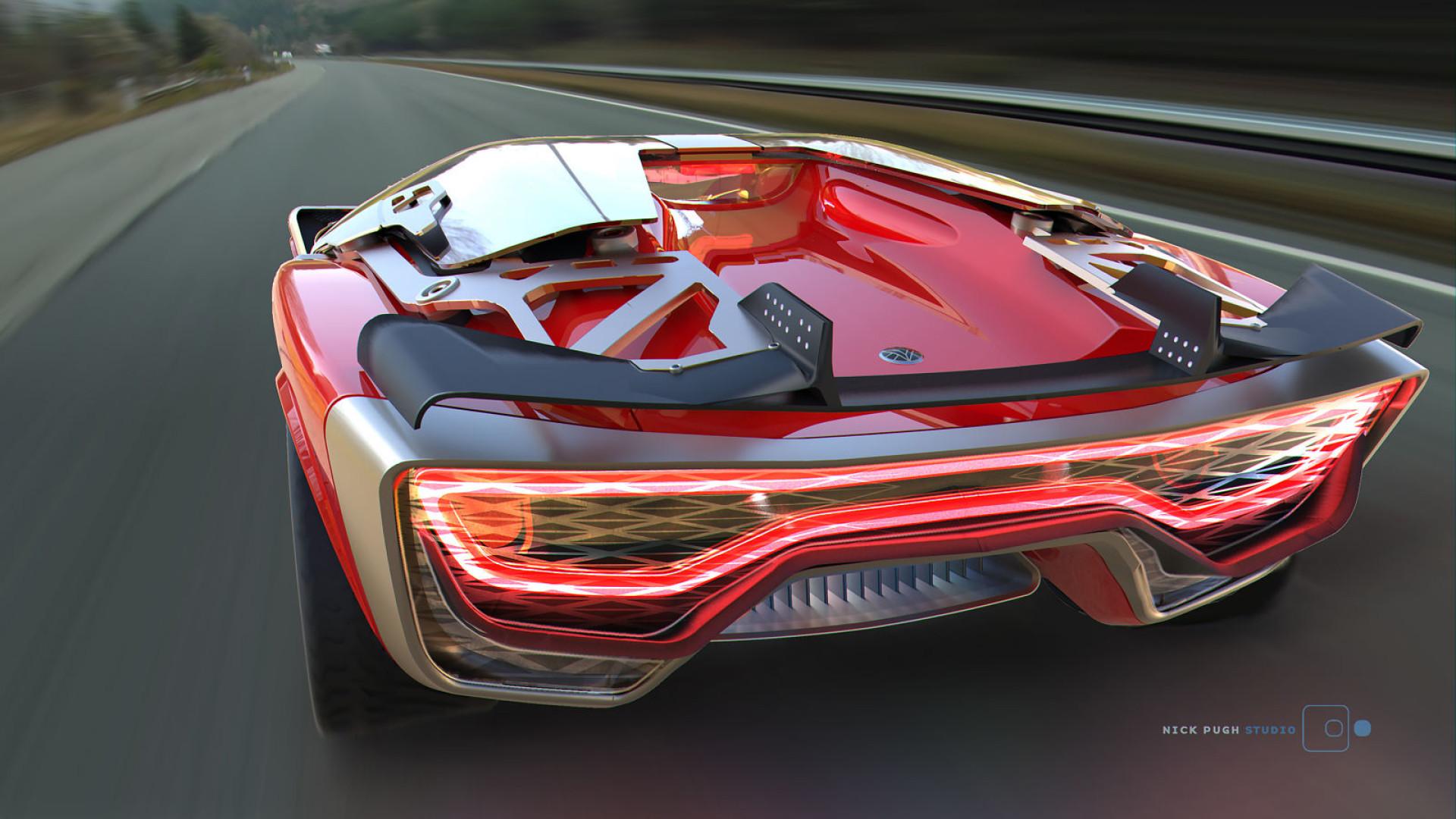 'Concept' do supercarro autónomo do futuro quer continuar a ser divertido