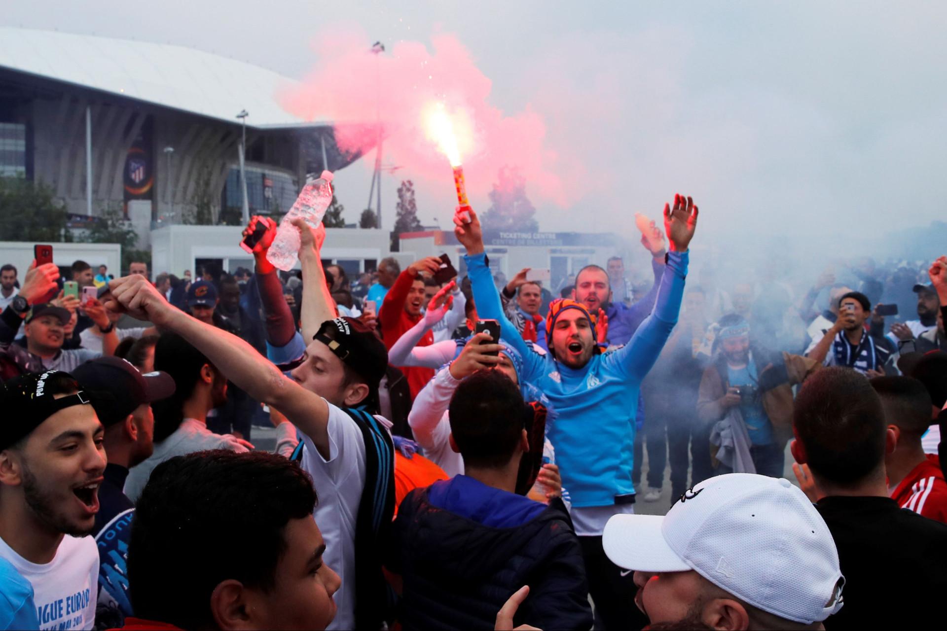 Marseille-Atlético - Antevisão da final da Europa League: Marselha - Atlético