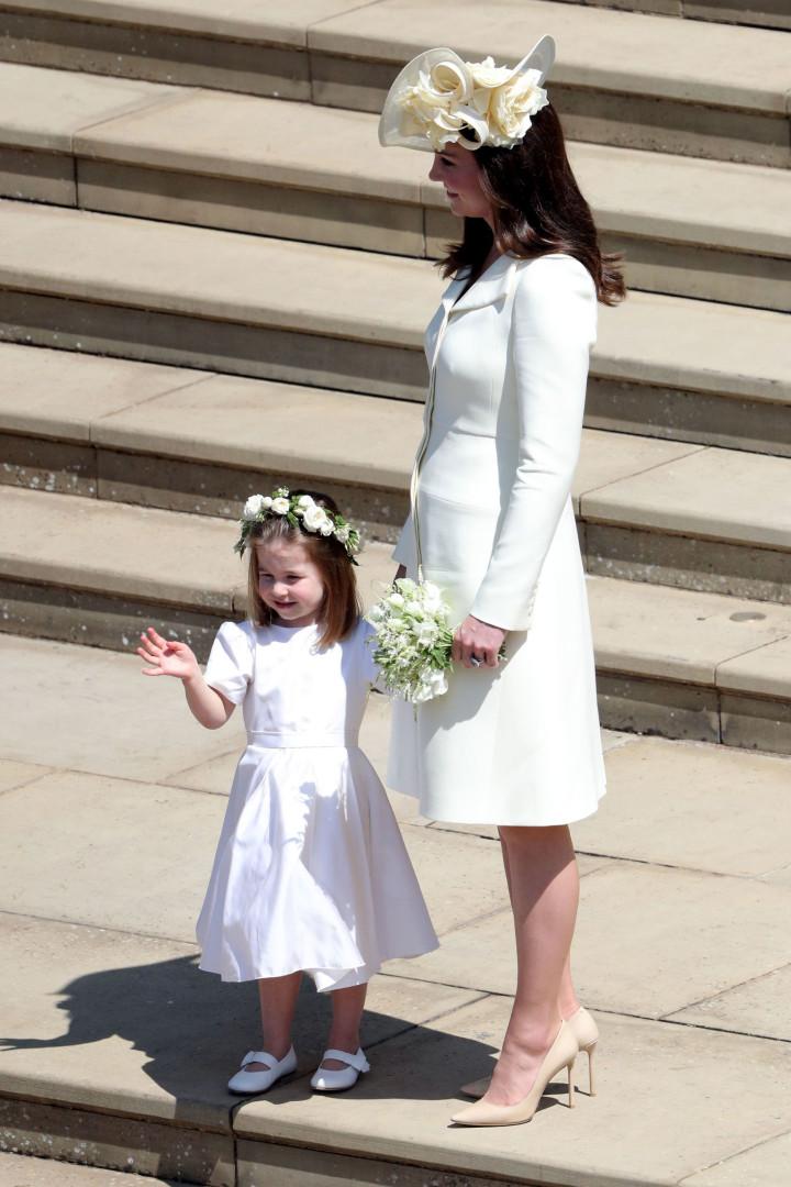 Princesa Charlotte foi quem 'organizou' as crianças do casamento real