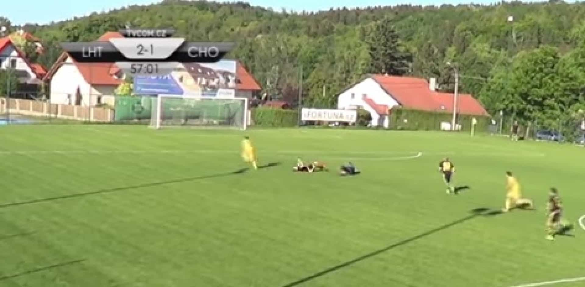 Jogador da Liga checa tem incrível gesto de fair-play com adversários