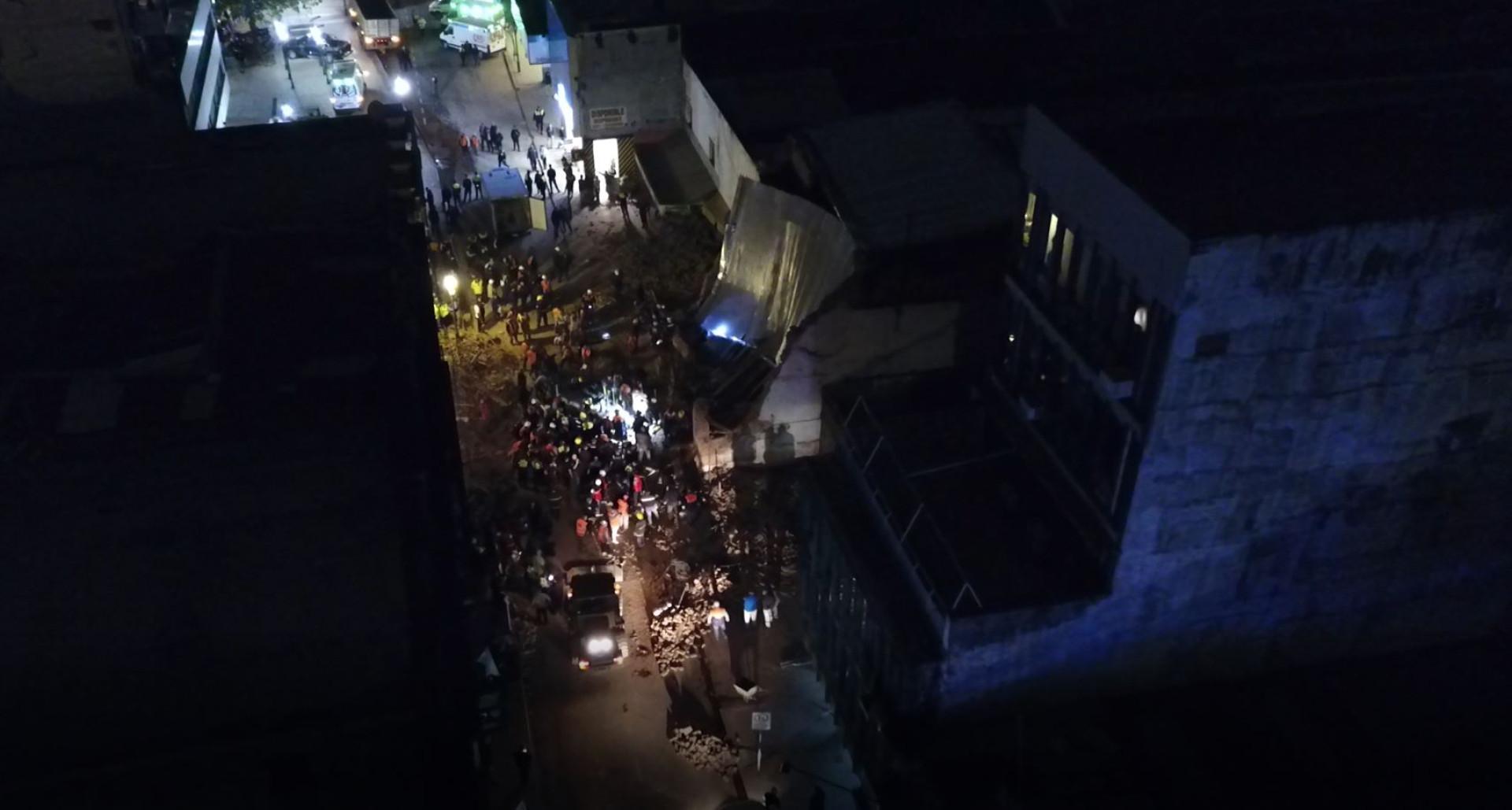 Antigo cinema colapsa na Argentina e faz pelo menos três mortos
