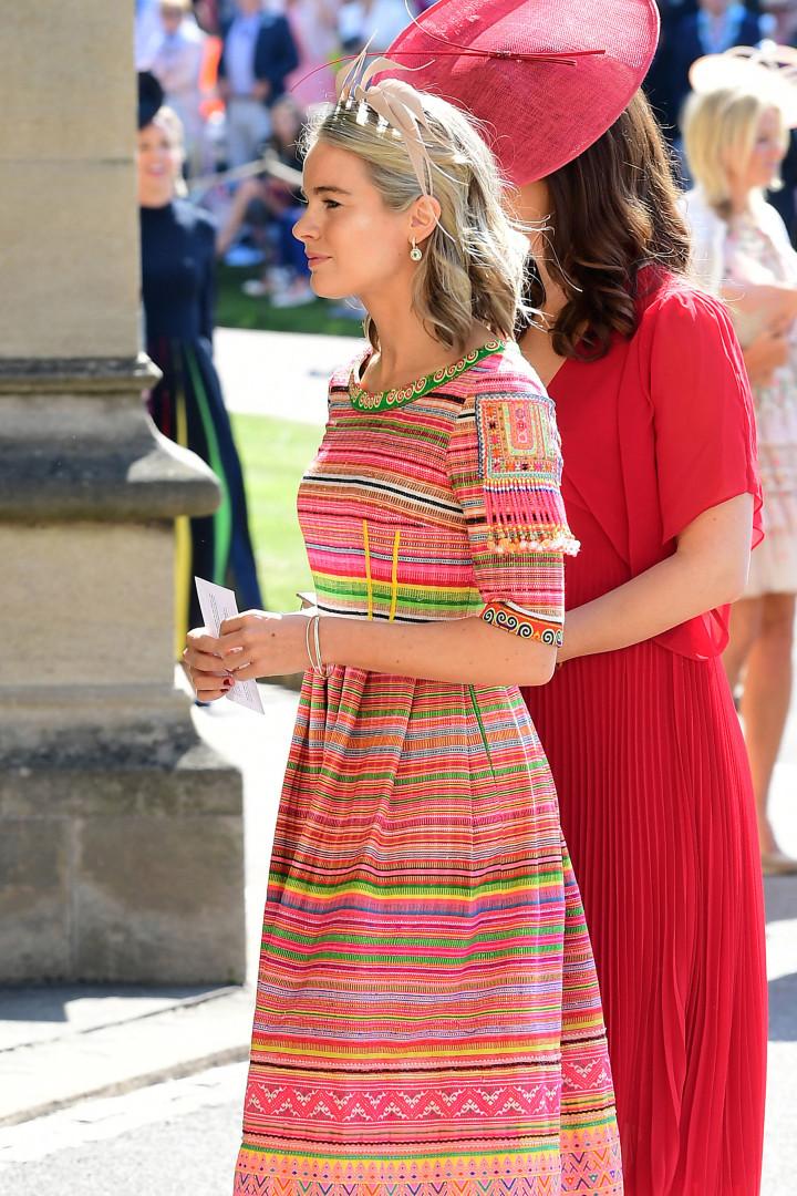 'Ex' de Harry, Cressida Bonas, revela o que mais a preocupou no casamento