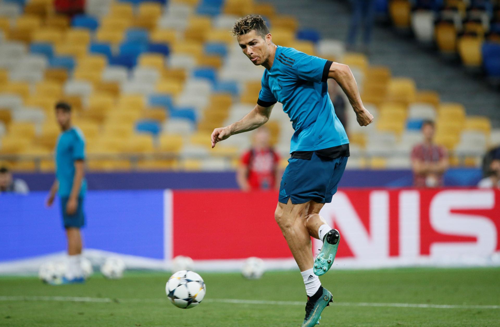CR7 virou 'artista' nos treinos, mas Zidane não se deixou ficar