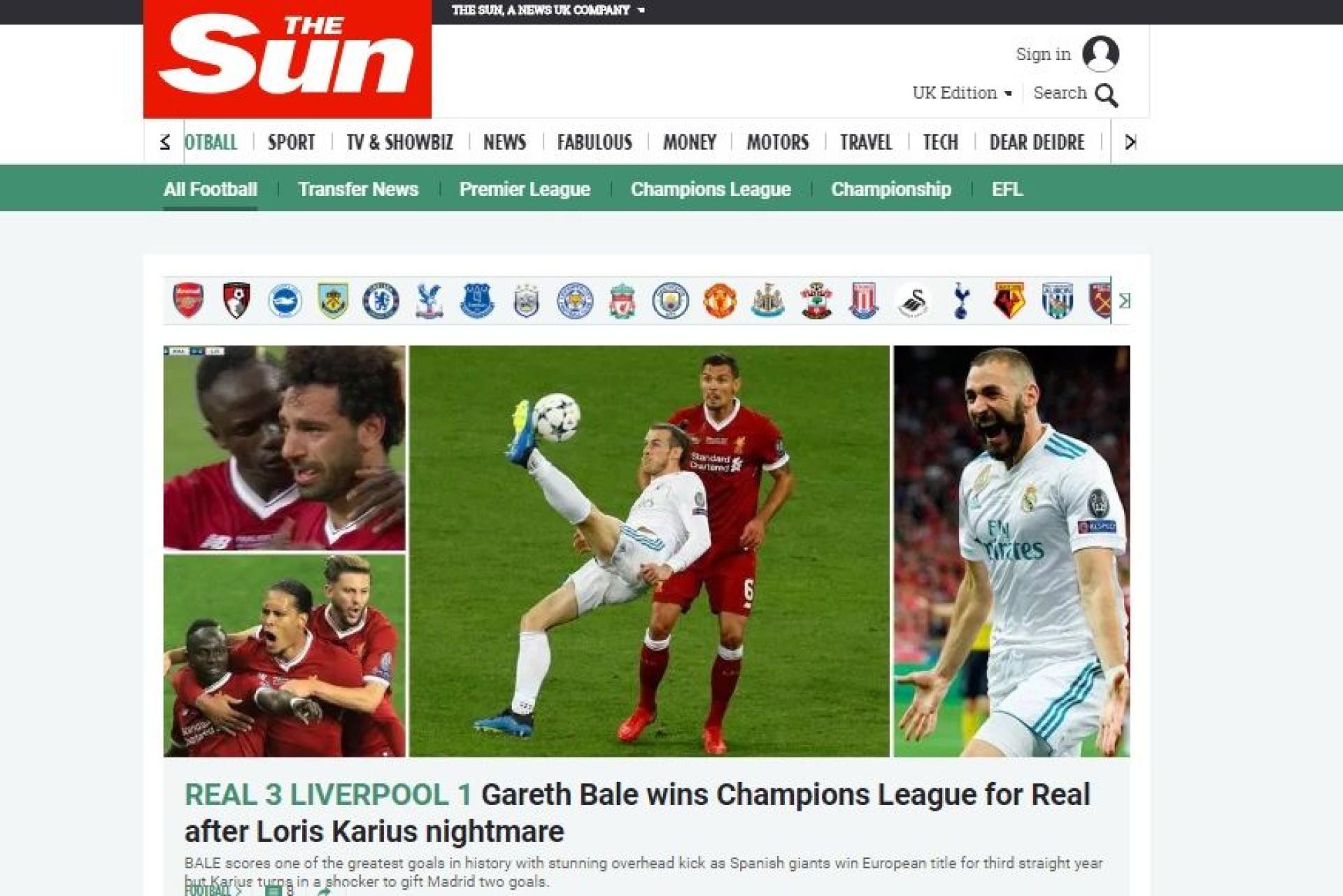 Lá por fora: CR7 'estraga' a conquista europeia do Real Madrid