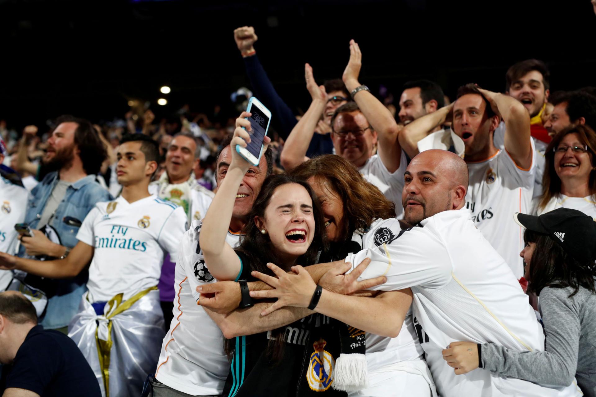 Uma festa 'blanca' na qual Ronaldo... passou ao lado