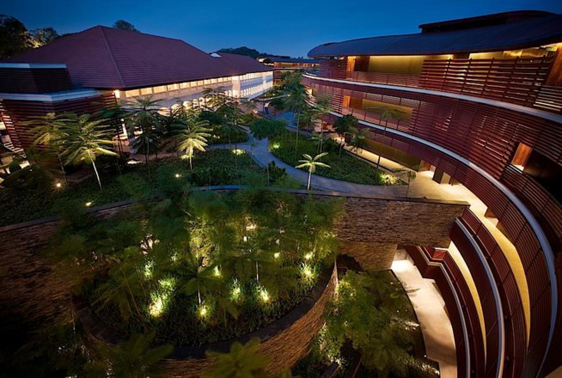O luxuoso hotel que servirá de terreno neutro para Trump e Kim