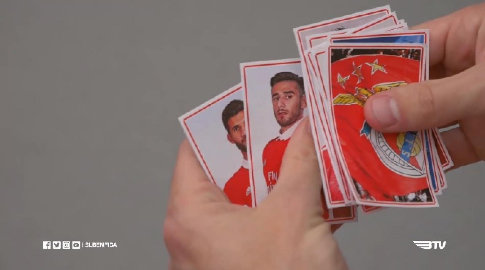 Ferreyra recorda os 'cromos' argentinos do Benfica